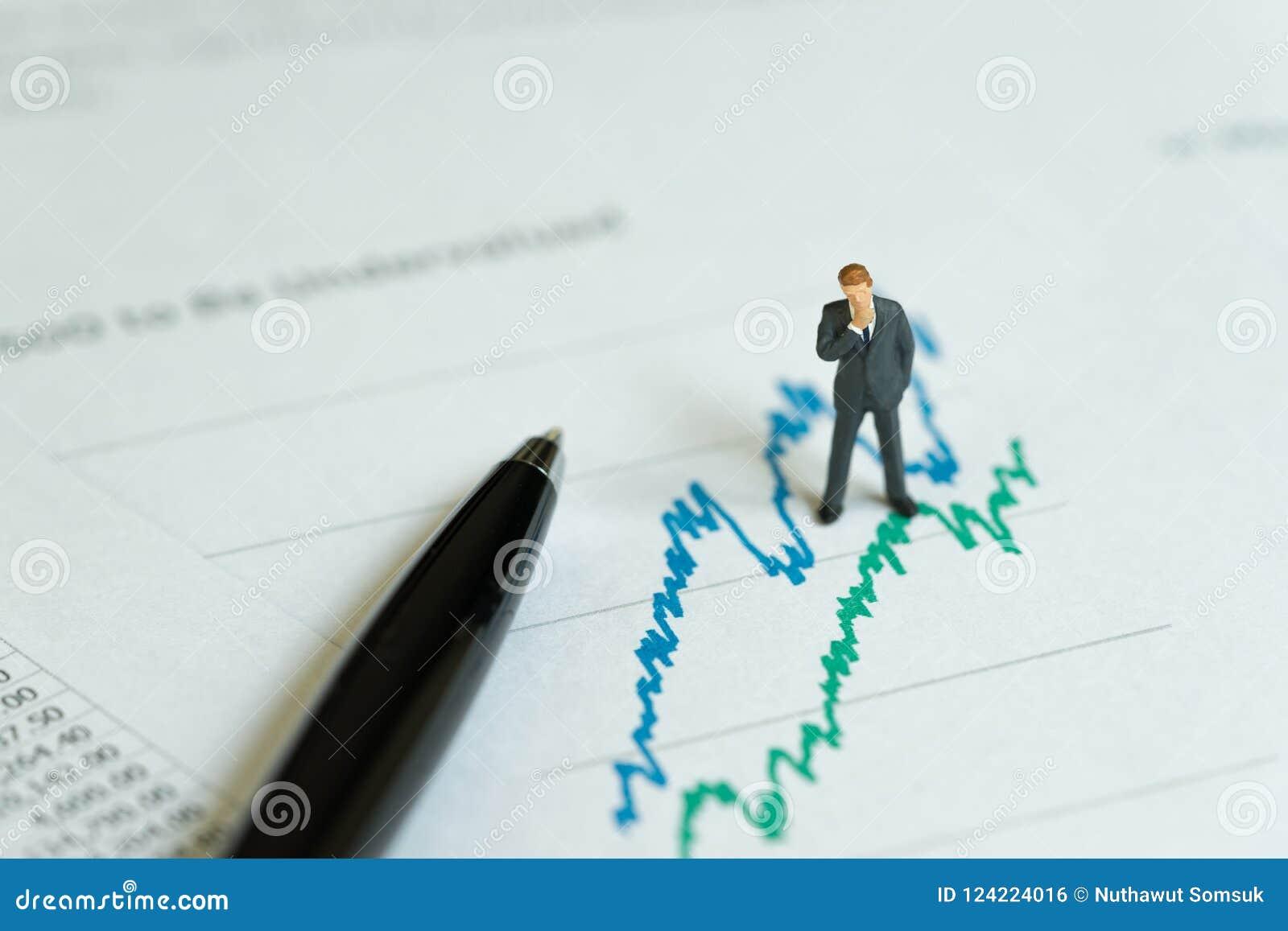 Lucro da empresa de negócio, investimento e analysi financeiro do relatório