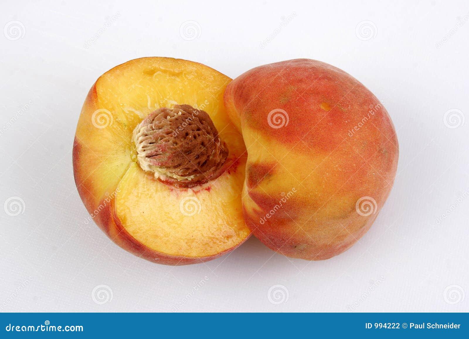 Luddig persikagrop för frukt