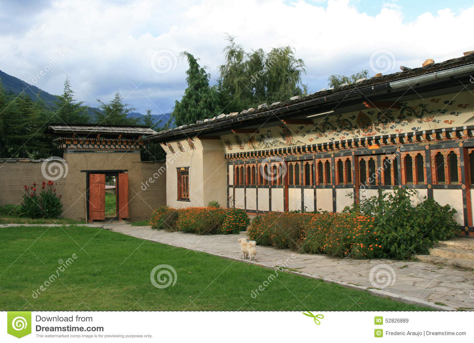 Ludowy dziedzictwa muzeum Thimphu, Bhutan -