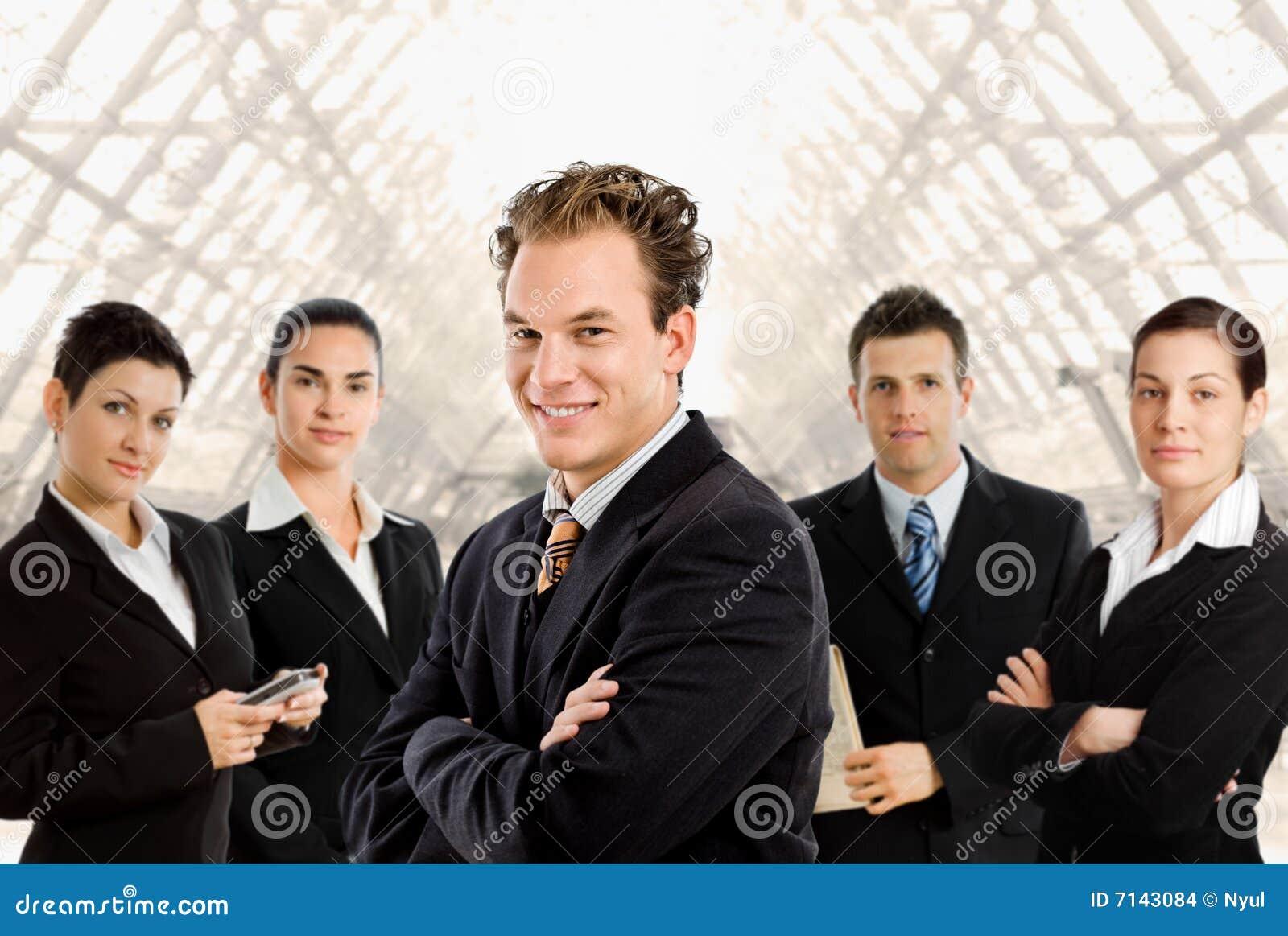 Ludzie biznesu drużyn