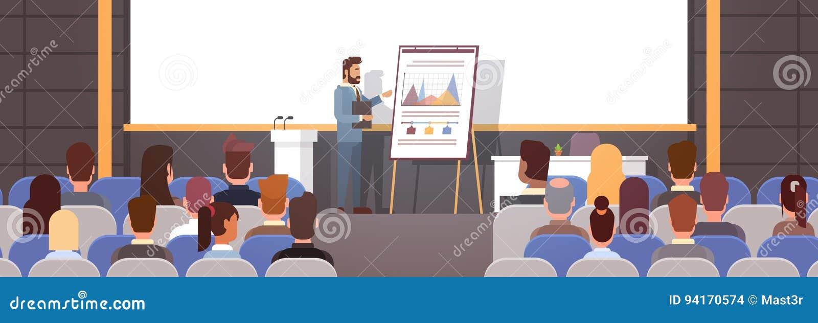Ludzie Biznesu Grupują przy Konferencyjną spotkanie kursów treningowych trzepnięcia mapą z wykresem
