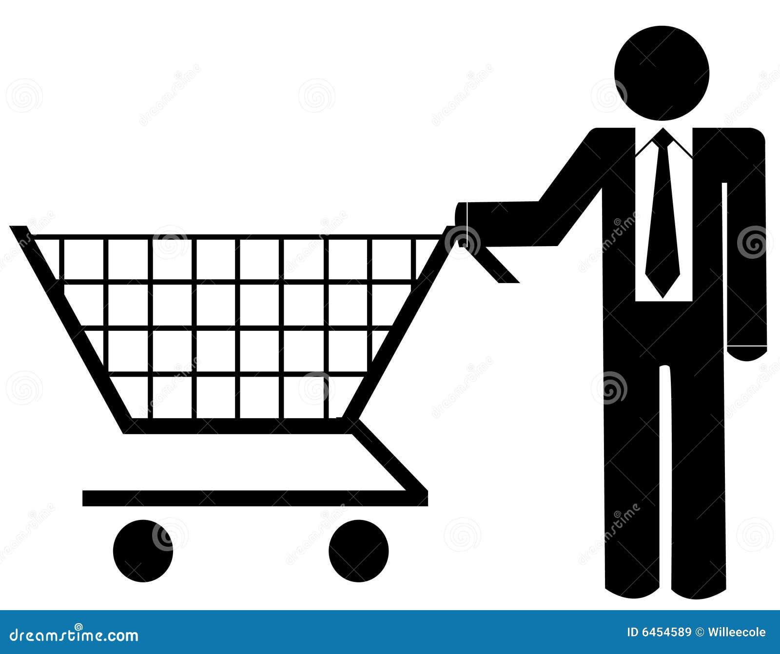 Ludzie biznesu zakupy