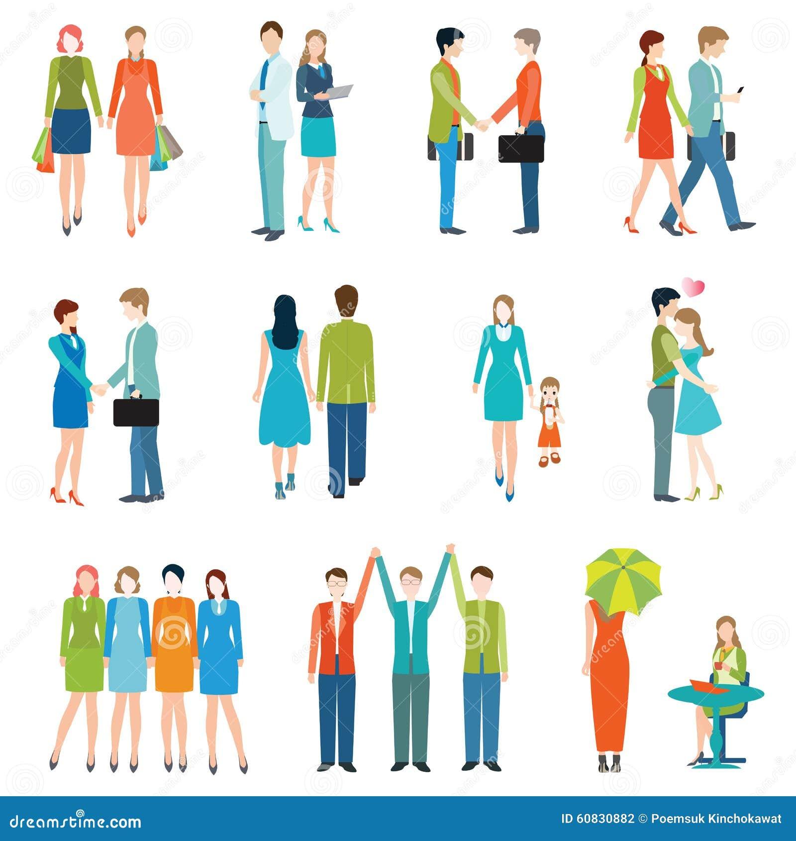 Ludzie w różnorodnych stylach życia
