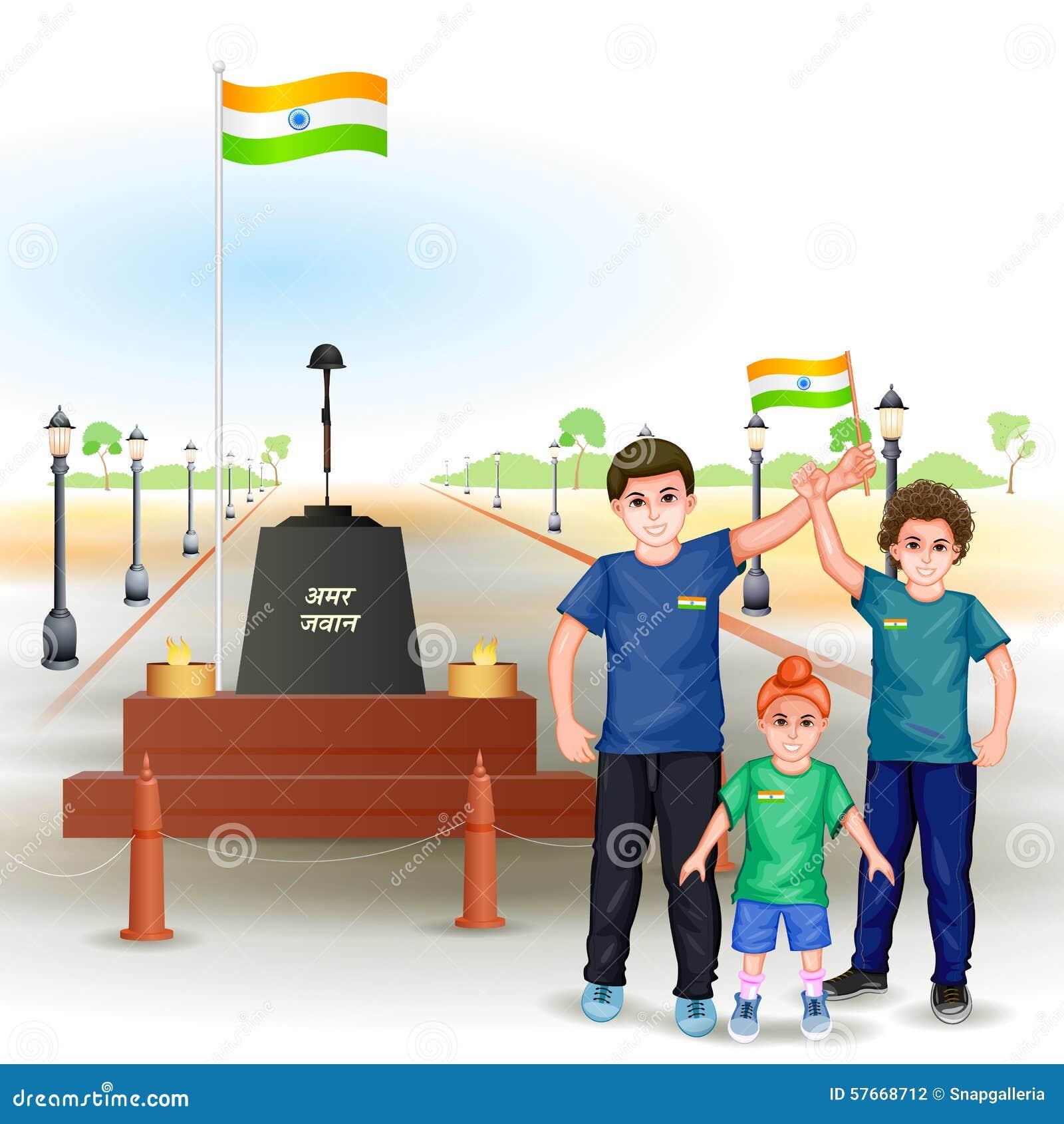 Ludzie z indianin flaga