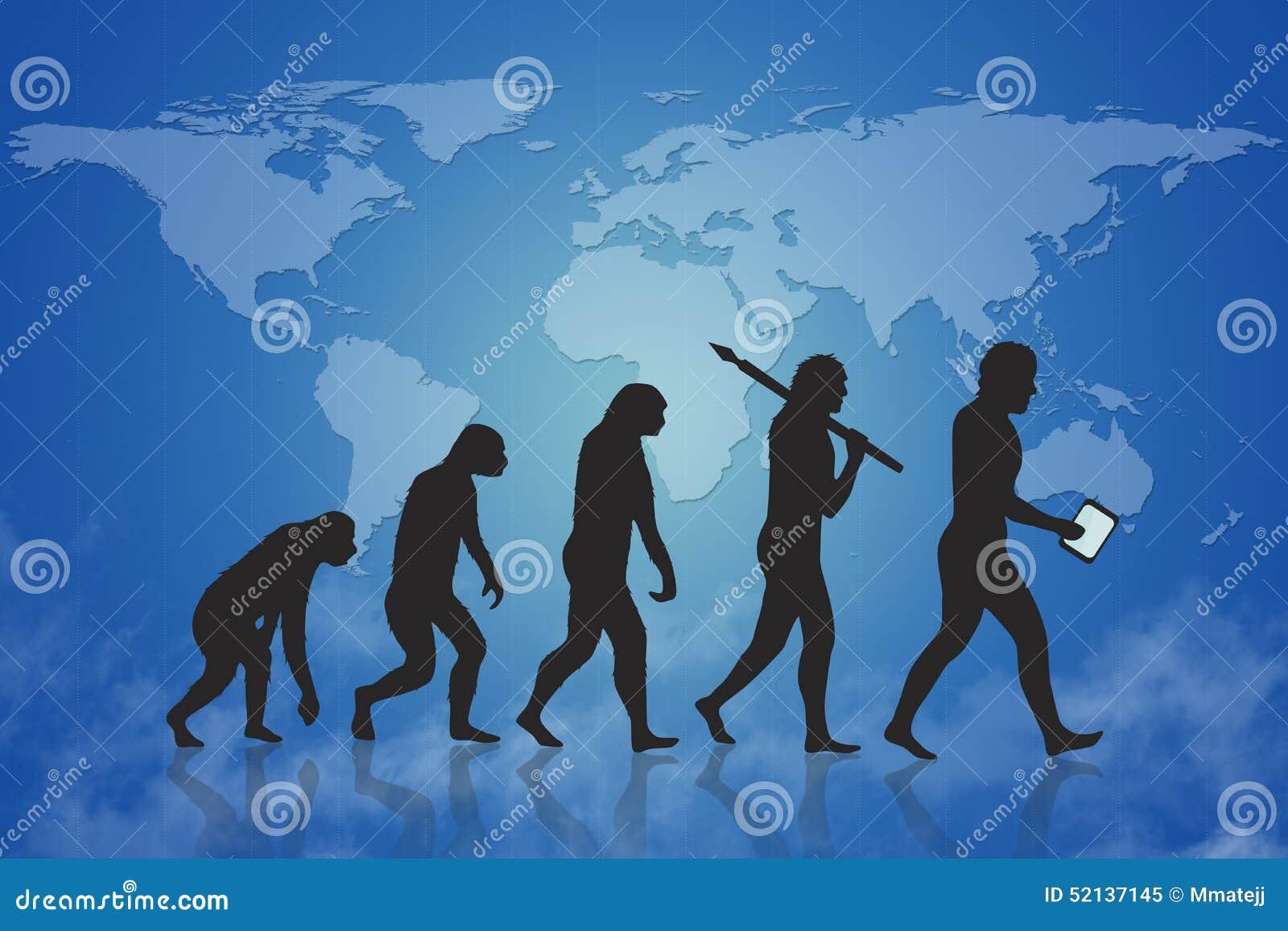 Ludzka ewolucja, przyrost & postęp/