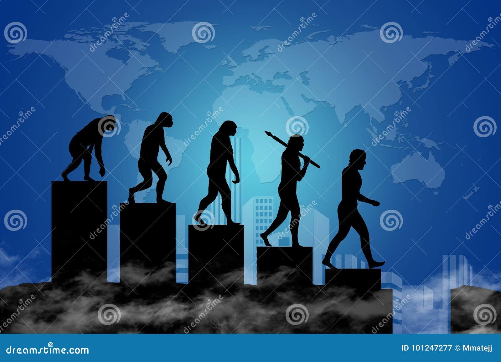 Ludzka ewolucja w współczesnego świat