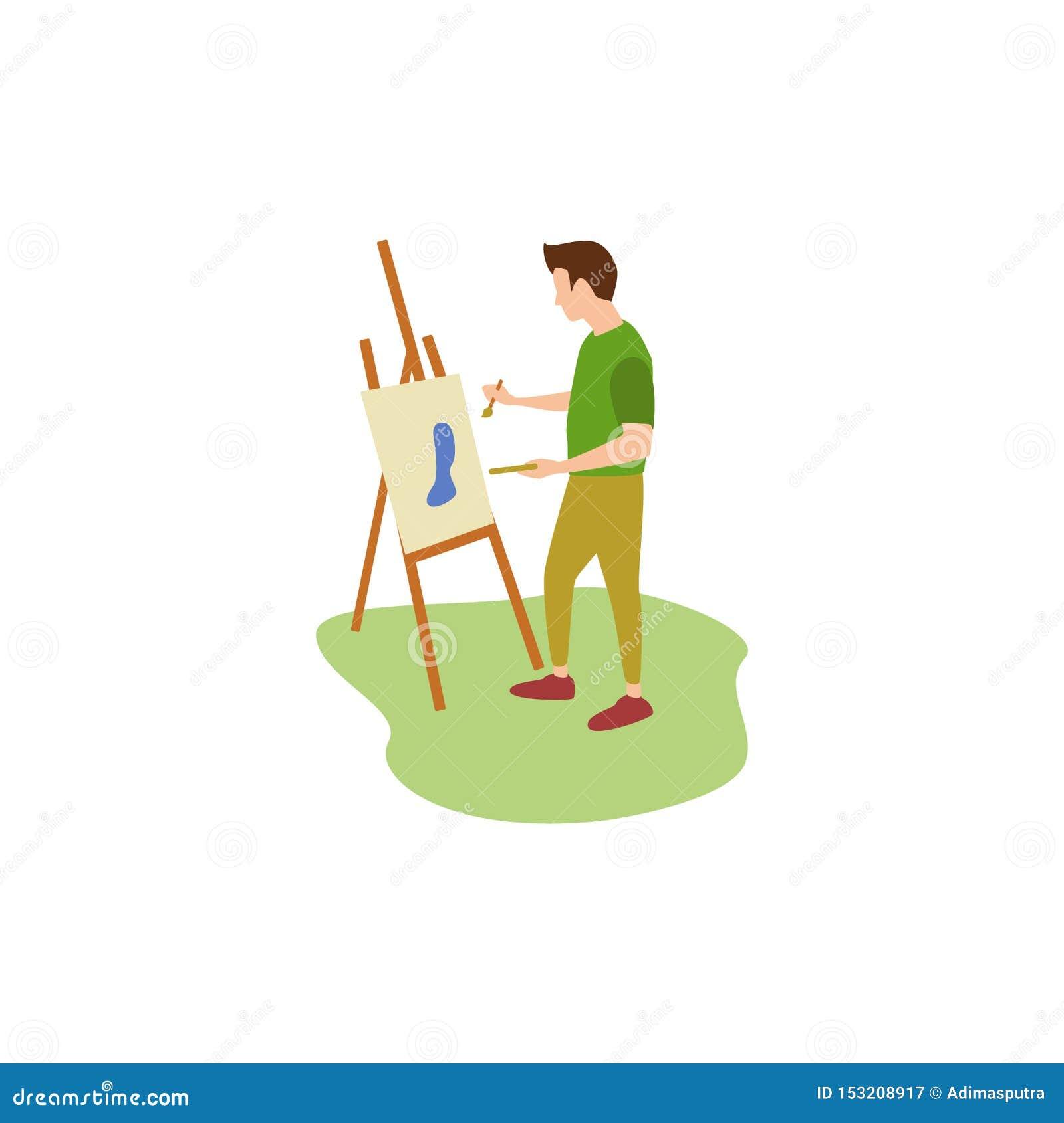 Ludzki hobby Malować