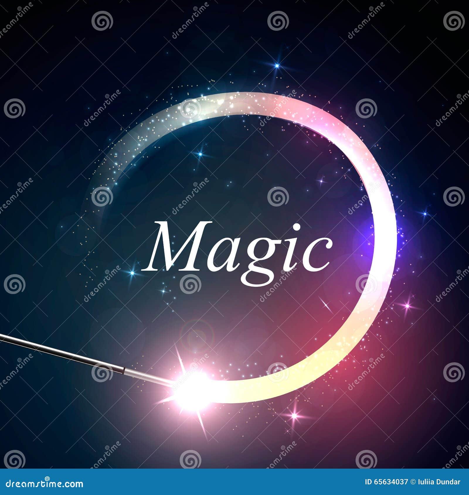 Lueur magique de fond