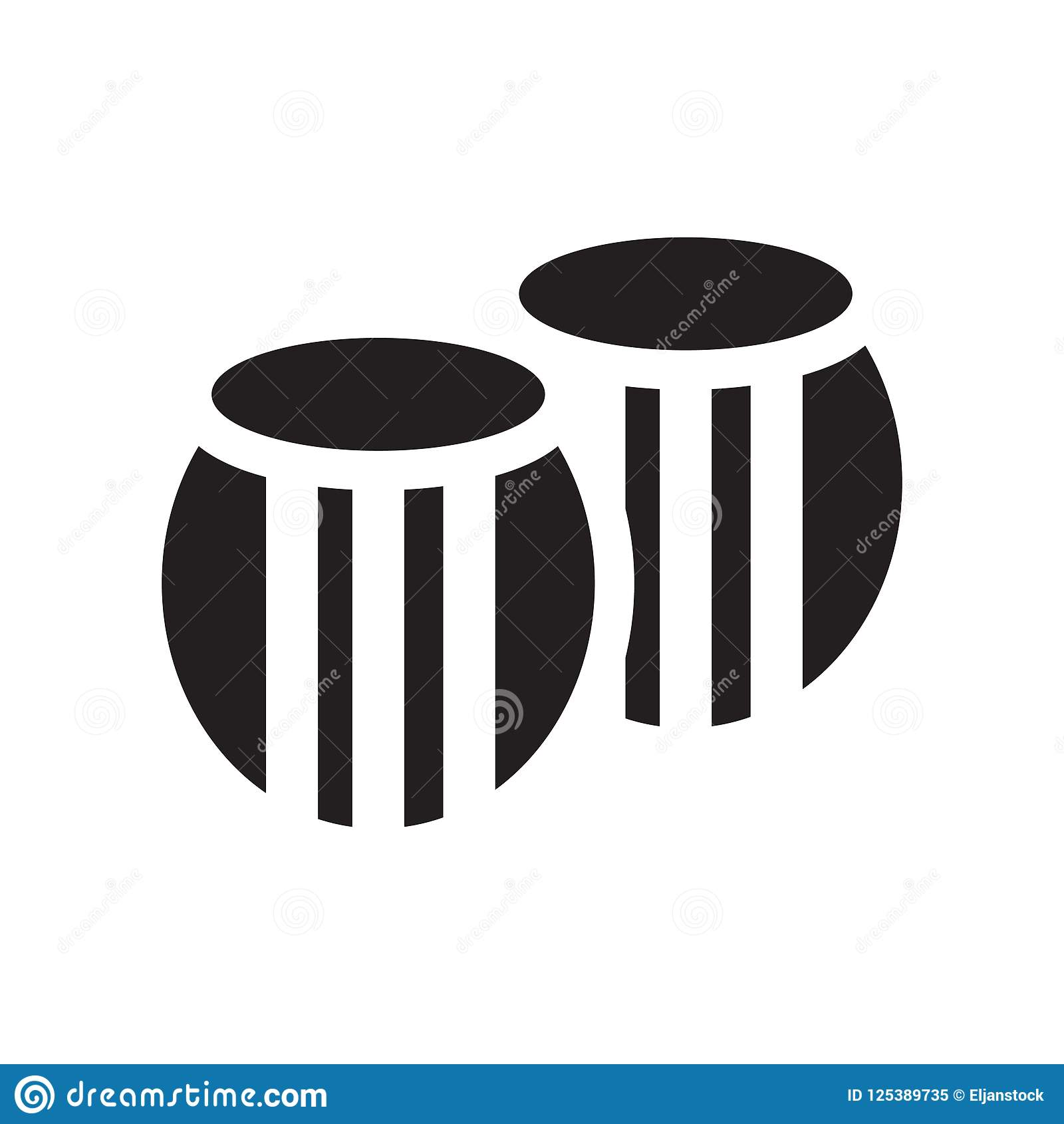 Lufowy ikona wektoru znak i symbol odizolowywający na białym tle,