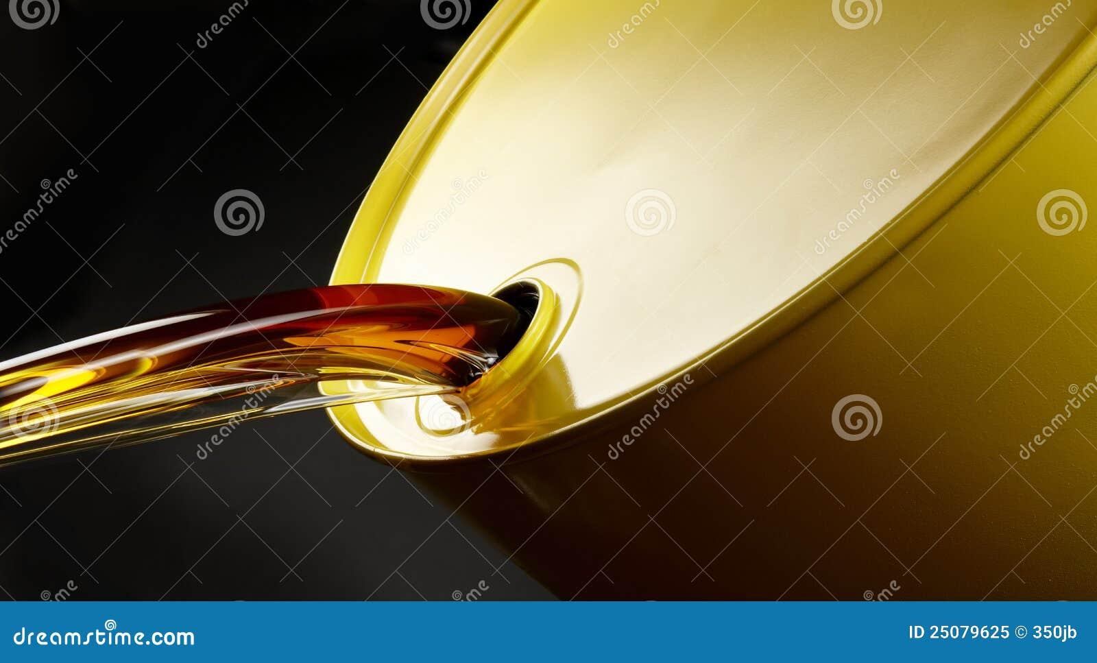 Lufowy olej nalewa