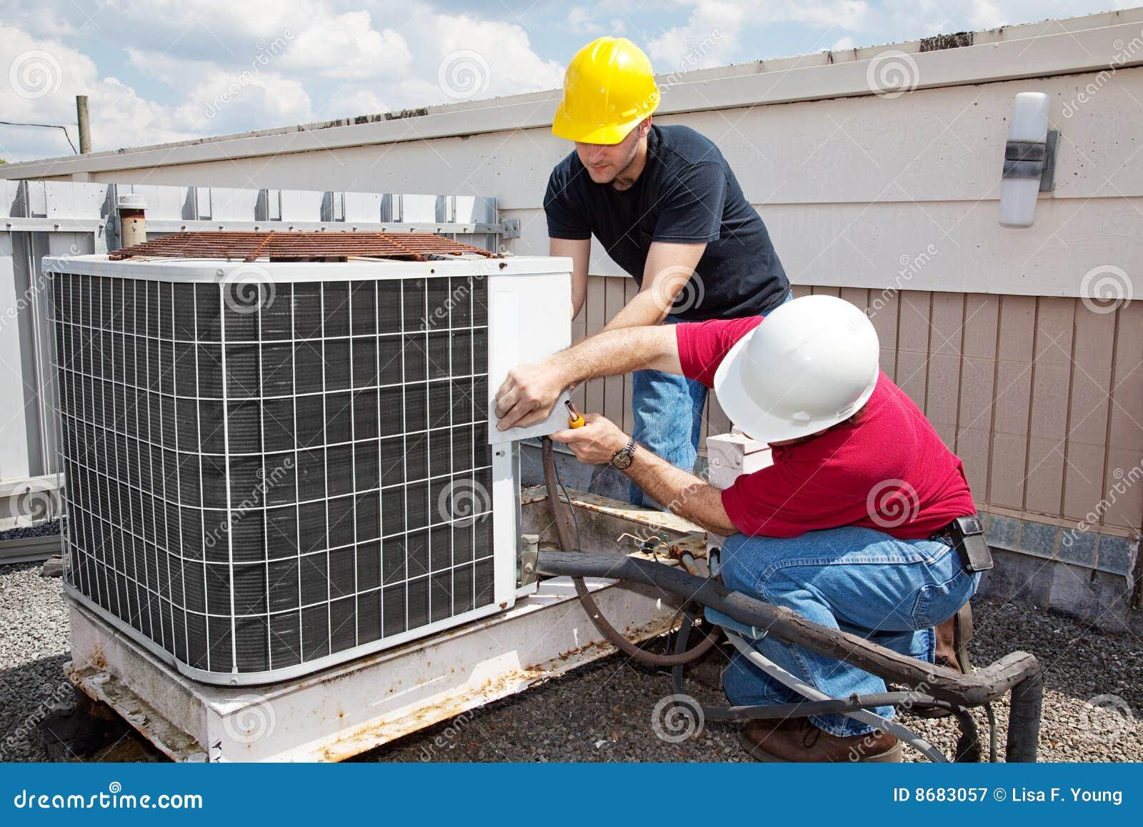 Luft som konditioneriner industriell reparation