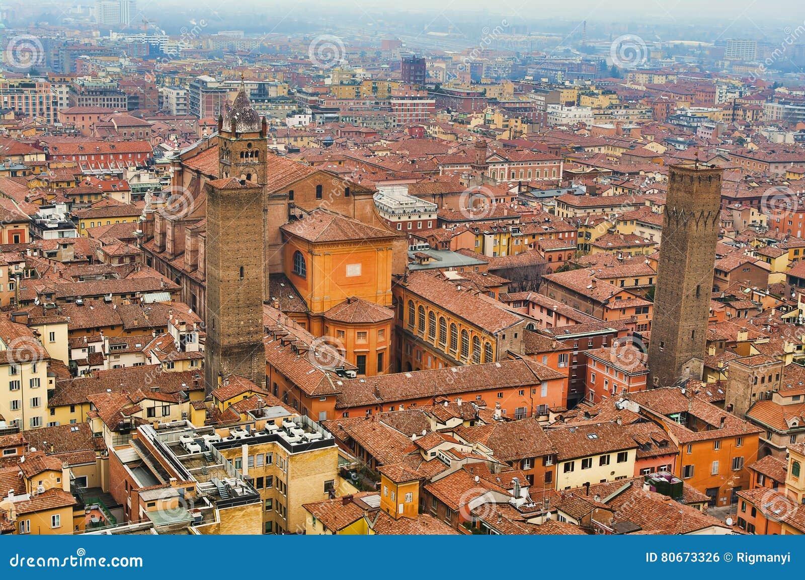 Luftaufnahme von Bologna