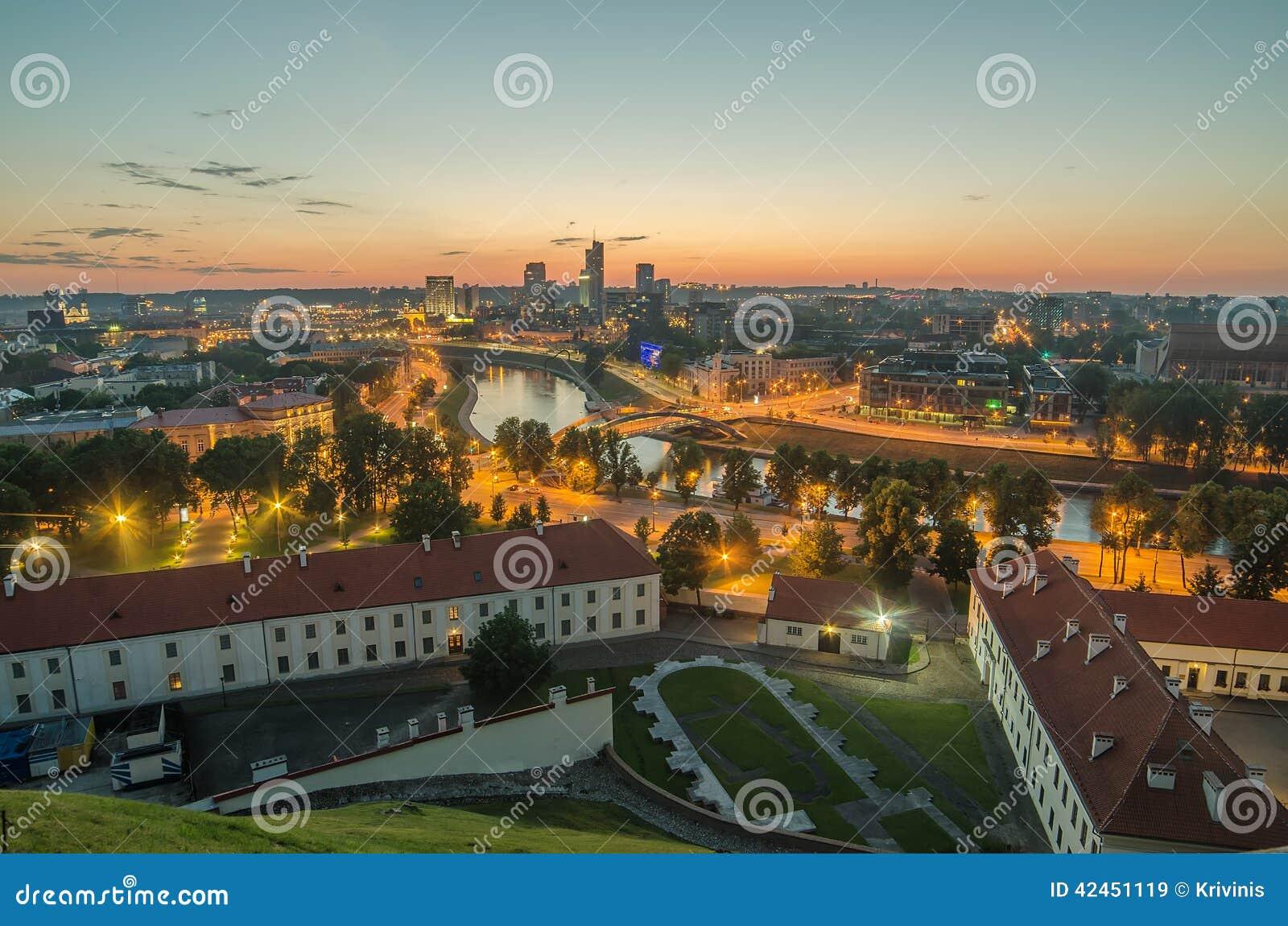 Luftaufnahme von Vilnius, Litauen