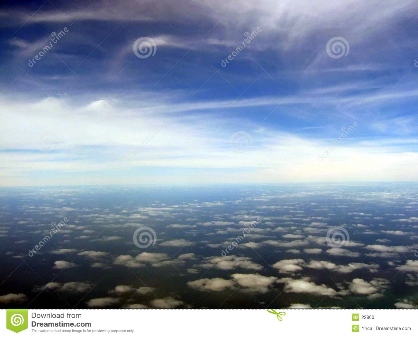 Luftcloudscape szenisch