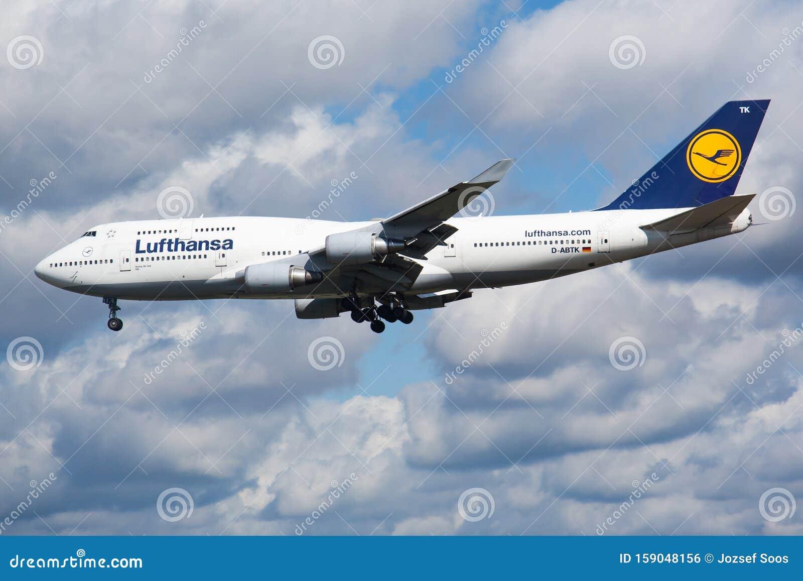 Lufthansa Ankunft Frankfurt