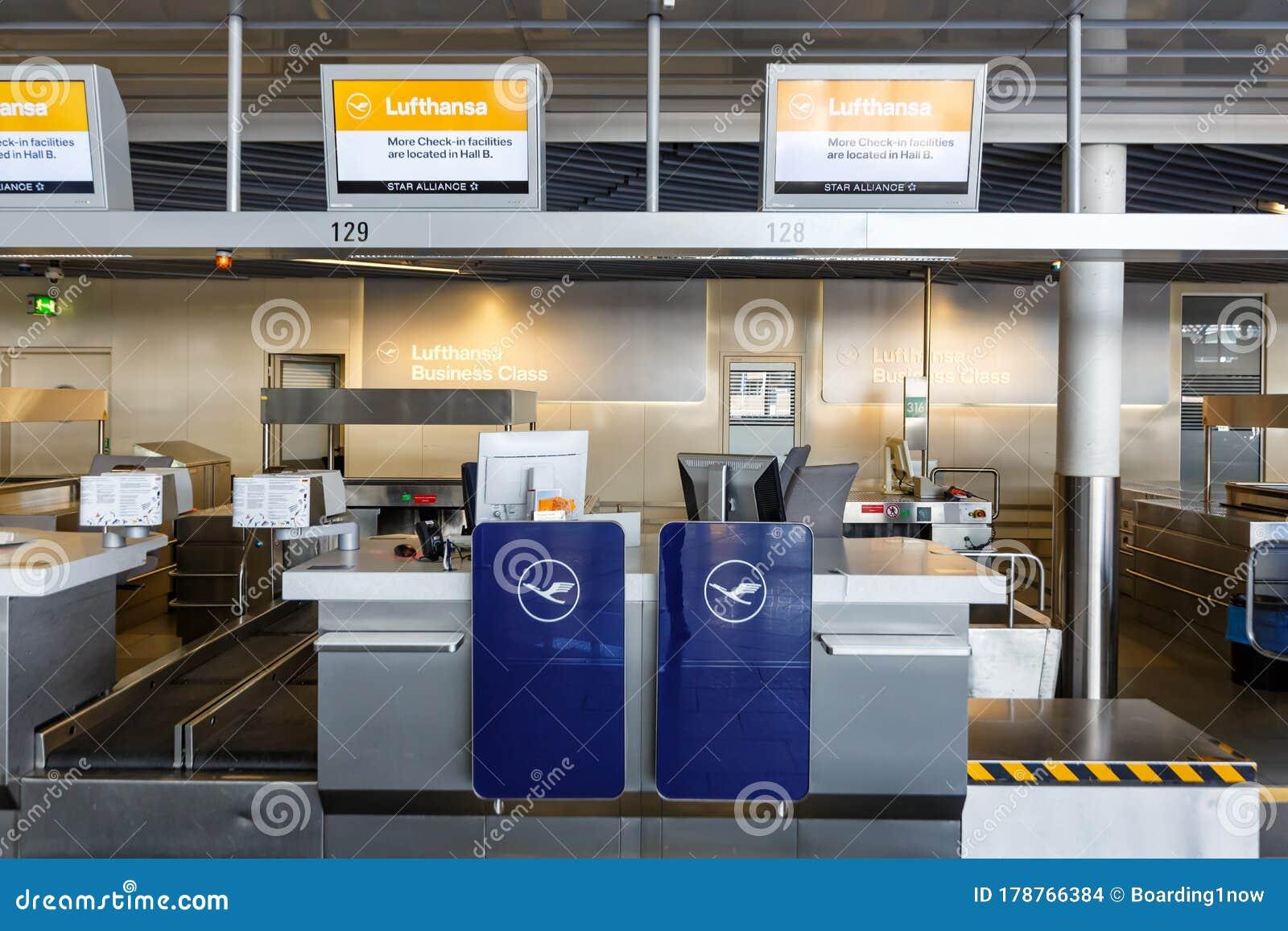 Frankfurt Flughafen Lufthansa Check In