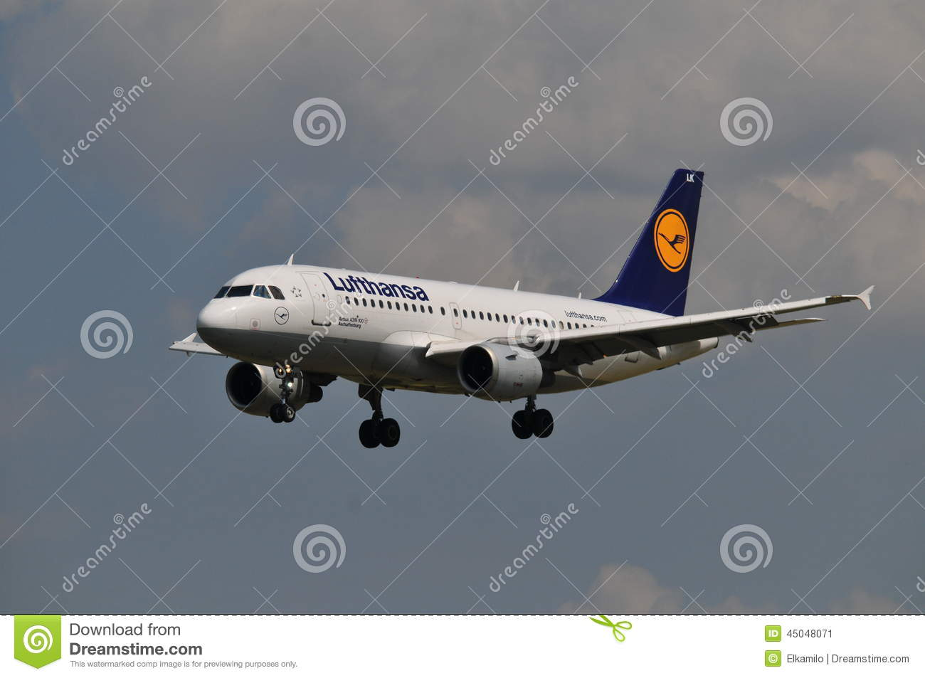 Lufthansa flight editorial photo image 45048071 for Lufthansa direct flights to germany
