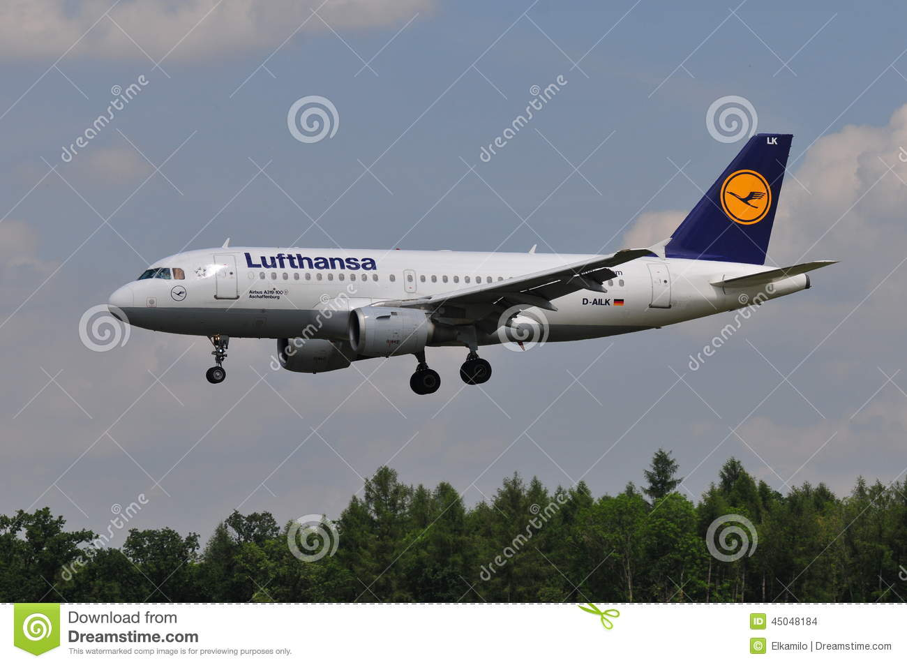 Lufthansa flight editorial stock image image 45048184 for Lufthansa direct flights to germany