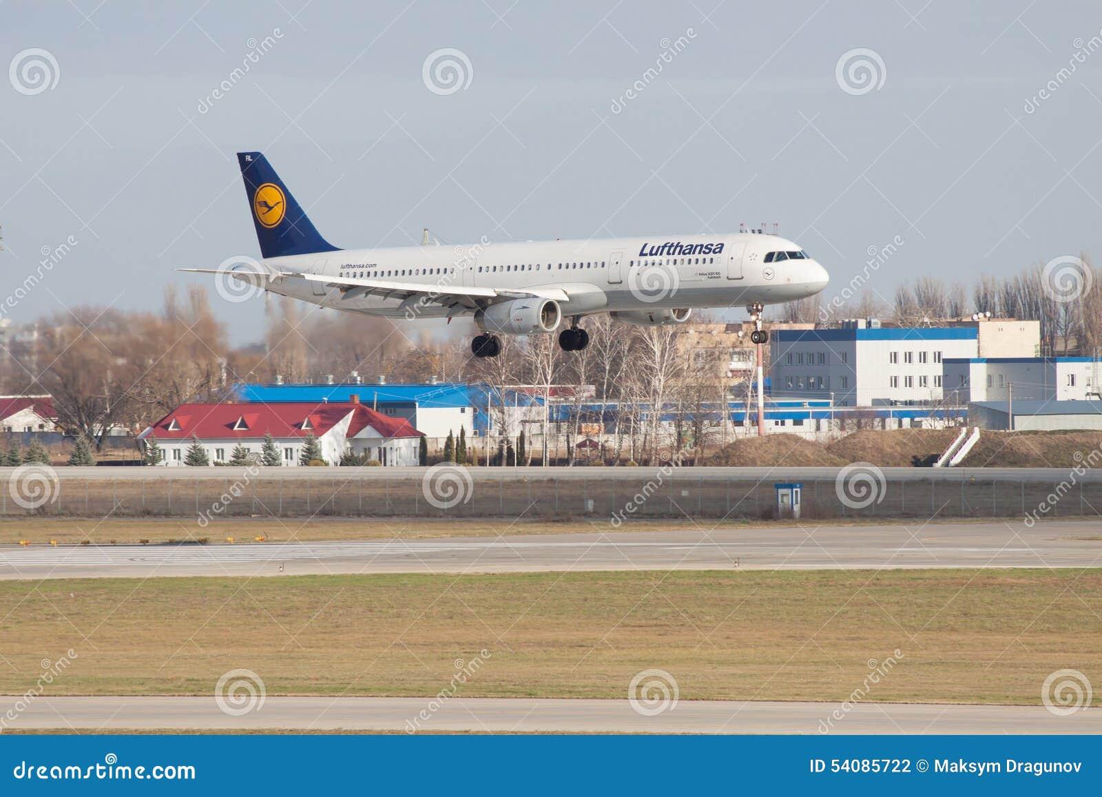 Lufthansa-Luchtbus A321