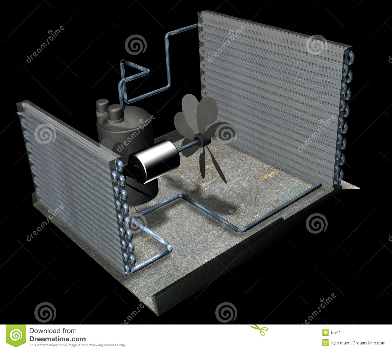 Luftkonditioneringsapparatdelar