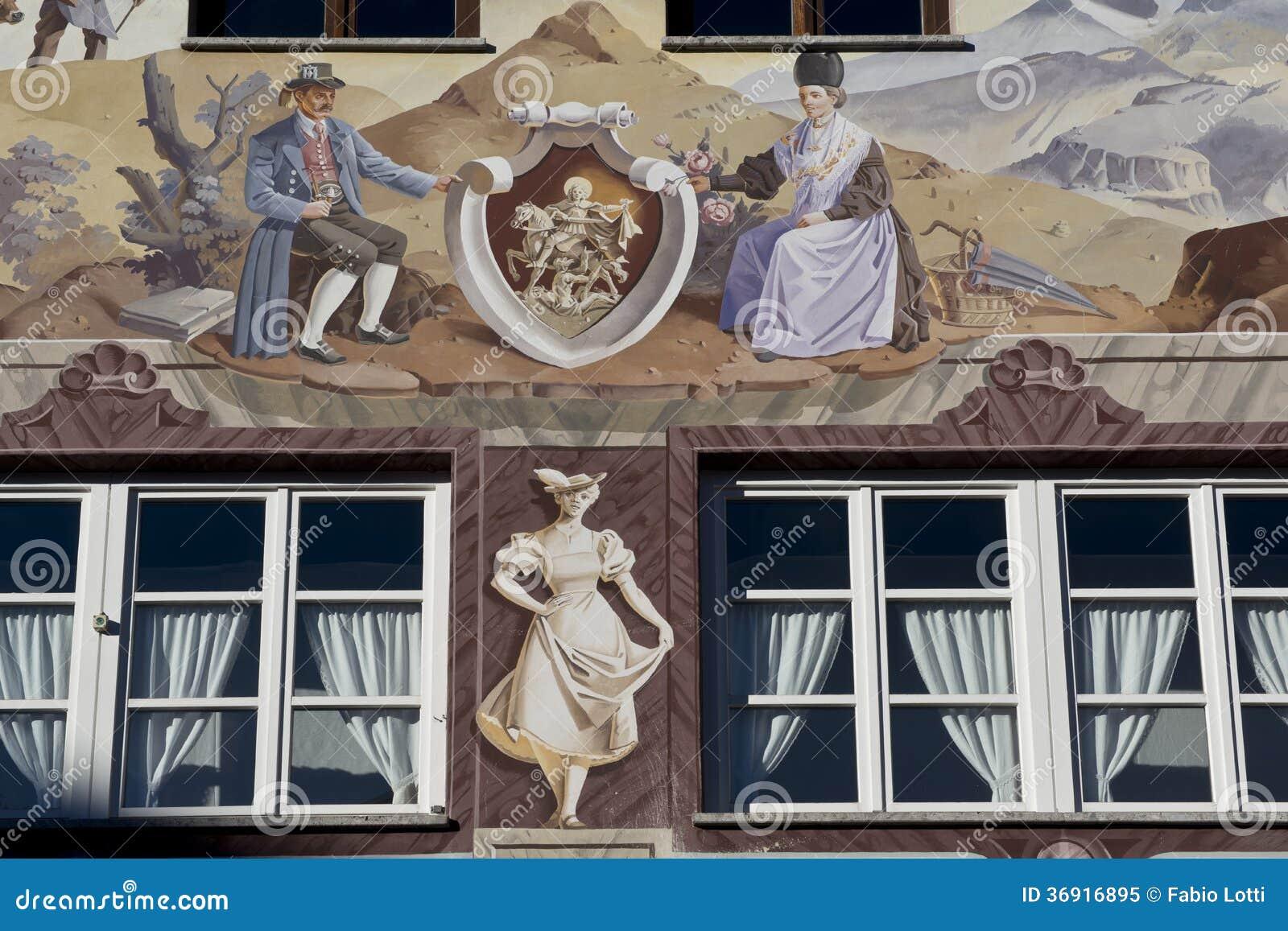 Luftmalerei w Garmish-Partenkirchen