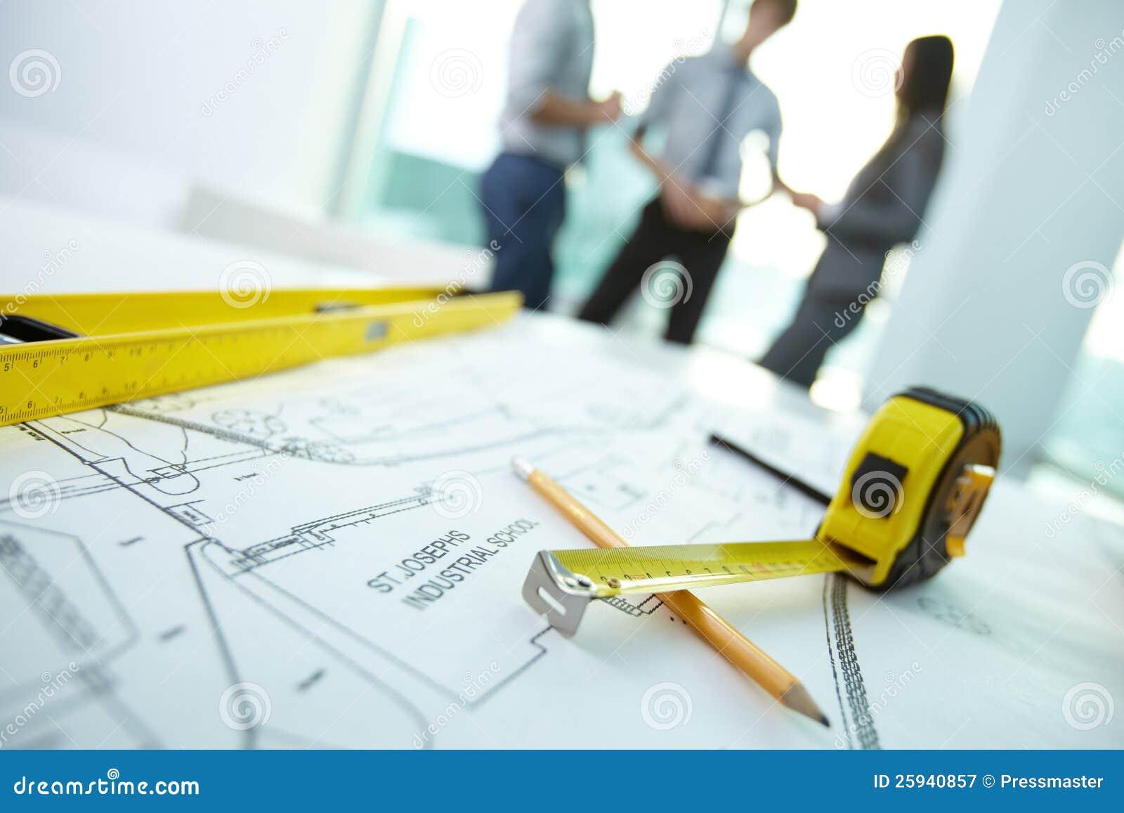 Lugar de trabajo del arquitecto for Trabajo de arquitecto
