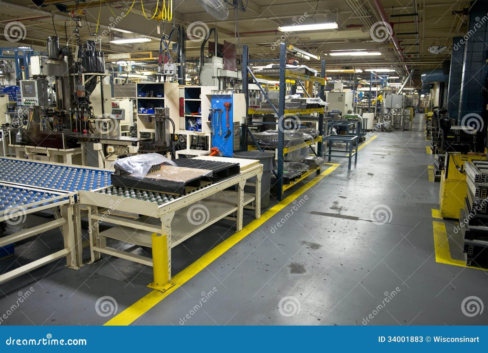 Lugar de trabalho industrial da fábrica da fabricação