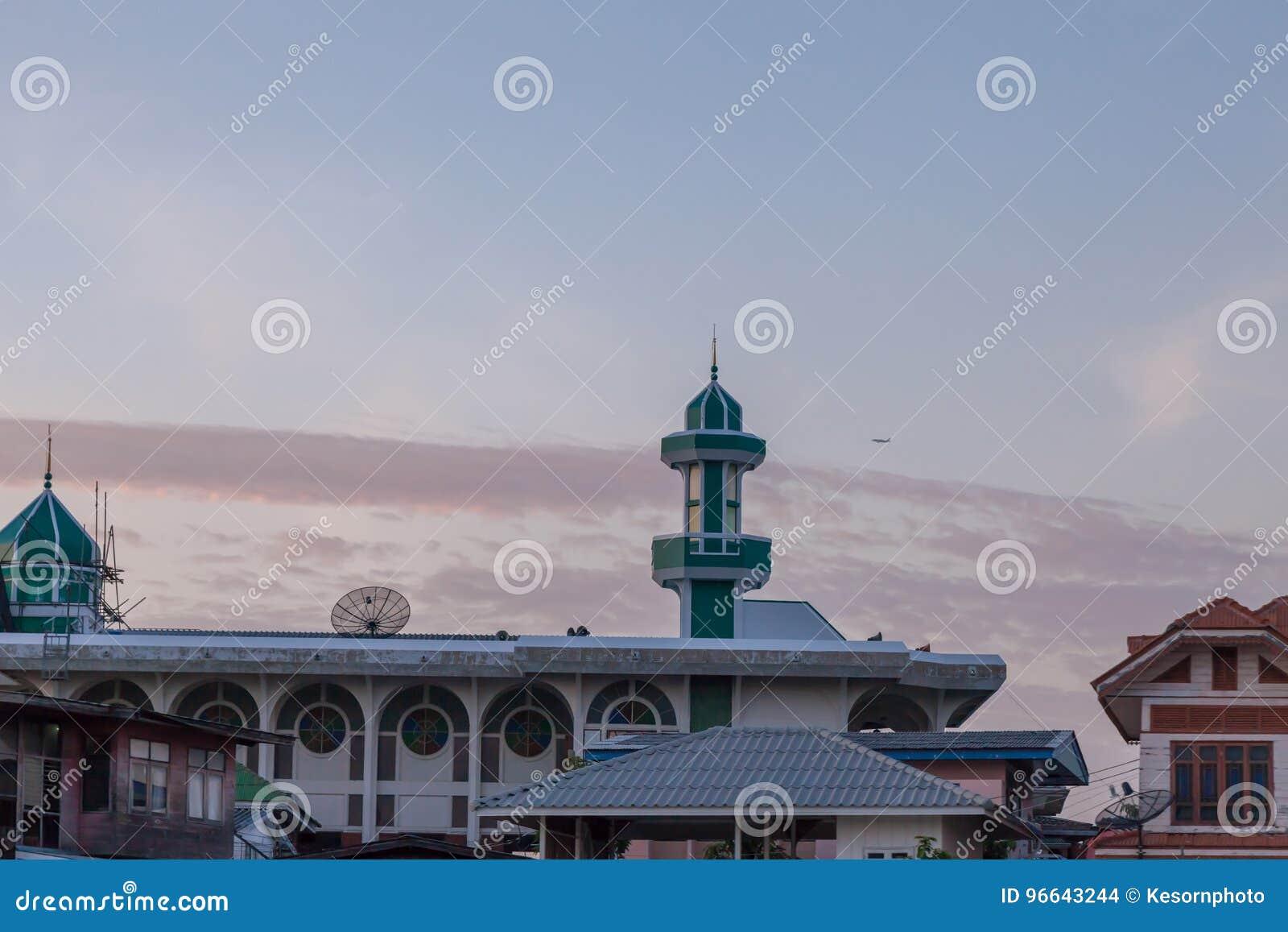 Lugar para executar a cerimônia Do islâmico