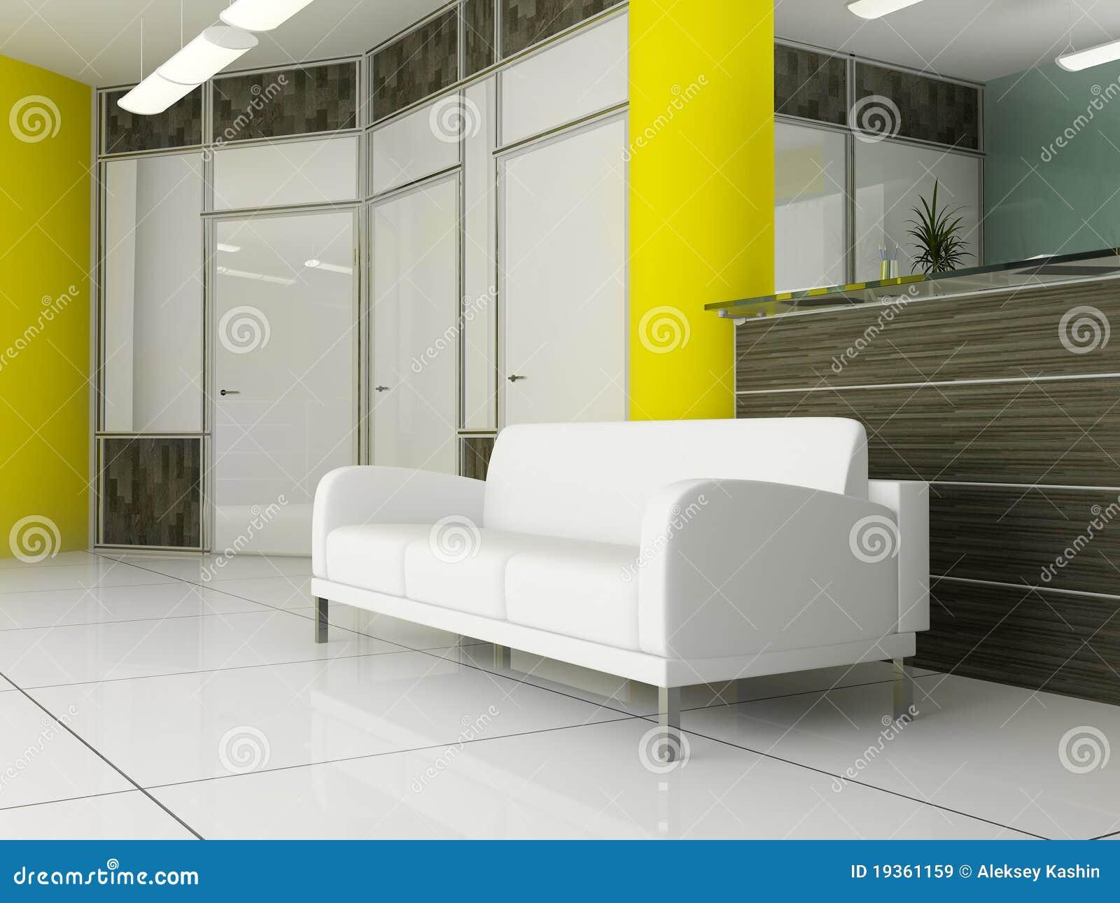 Lugar para o descanso no escritório