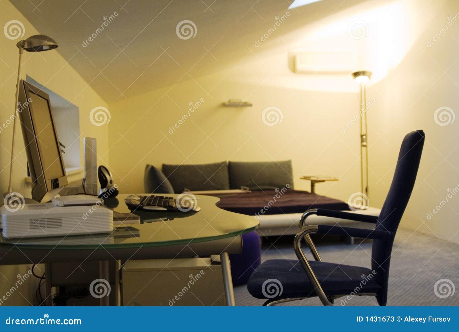 Lugar para o trabalho em casa