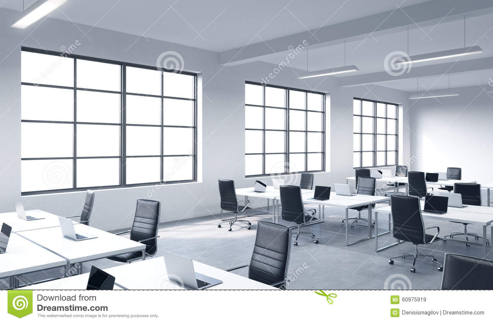 Minimalist Classroom Noise ~ Lugares de trabajo corporativos equipados por los