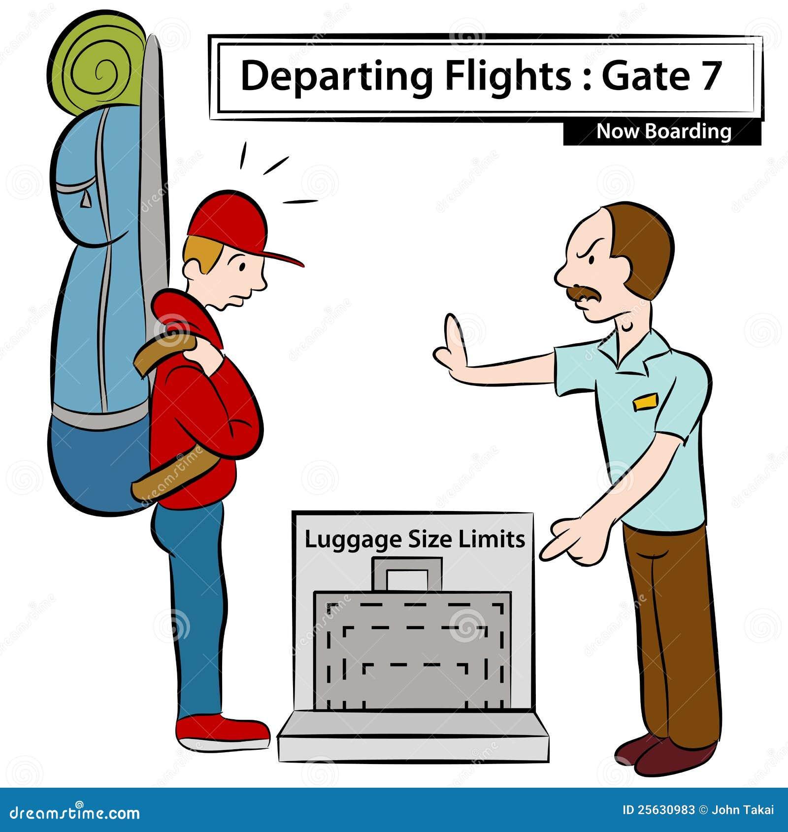 Luggage Size Limits Stock Photos - Image: 25630983