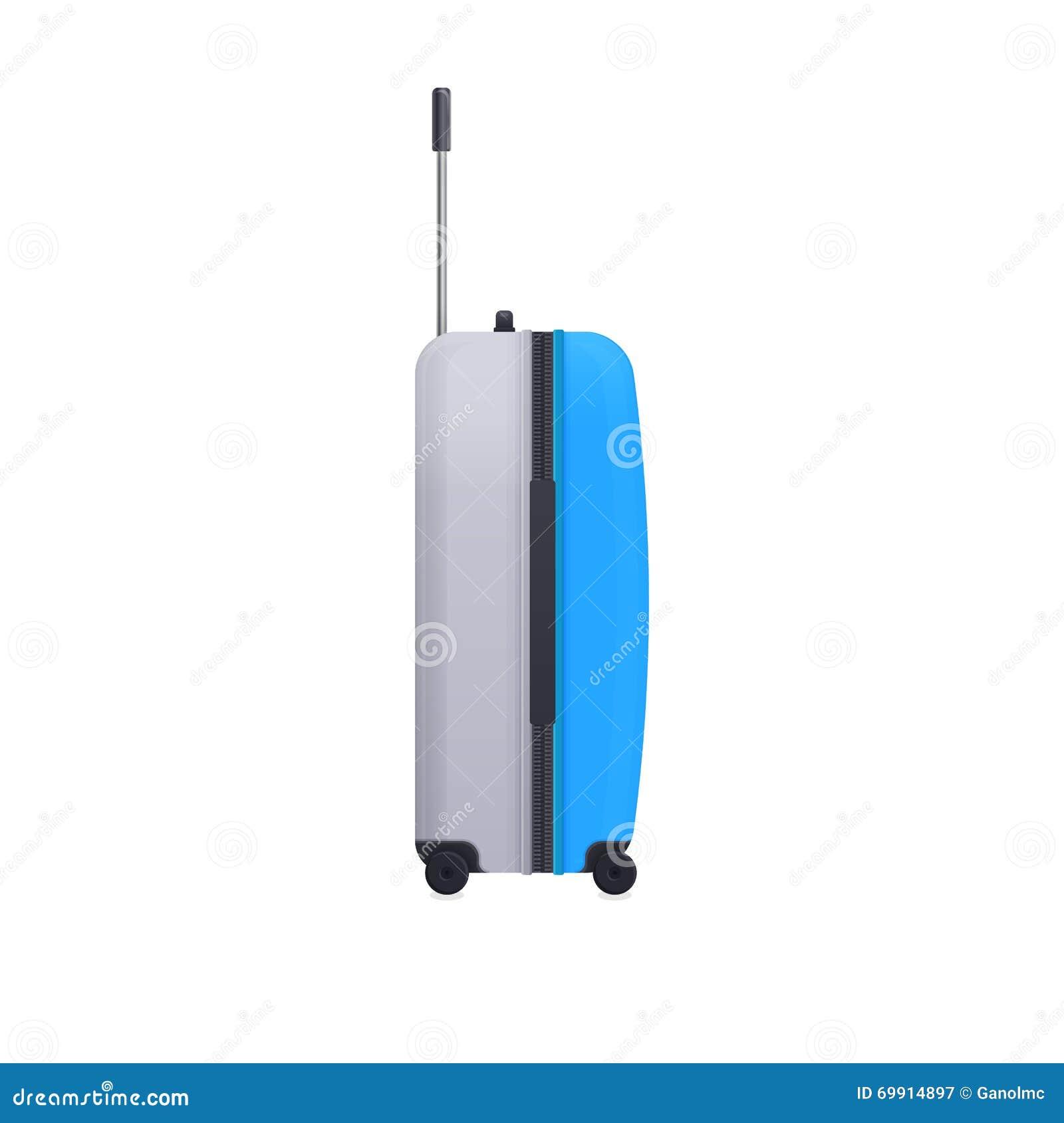 Lugier Realistyczne podróży torby bagaż wektor