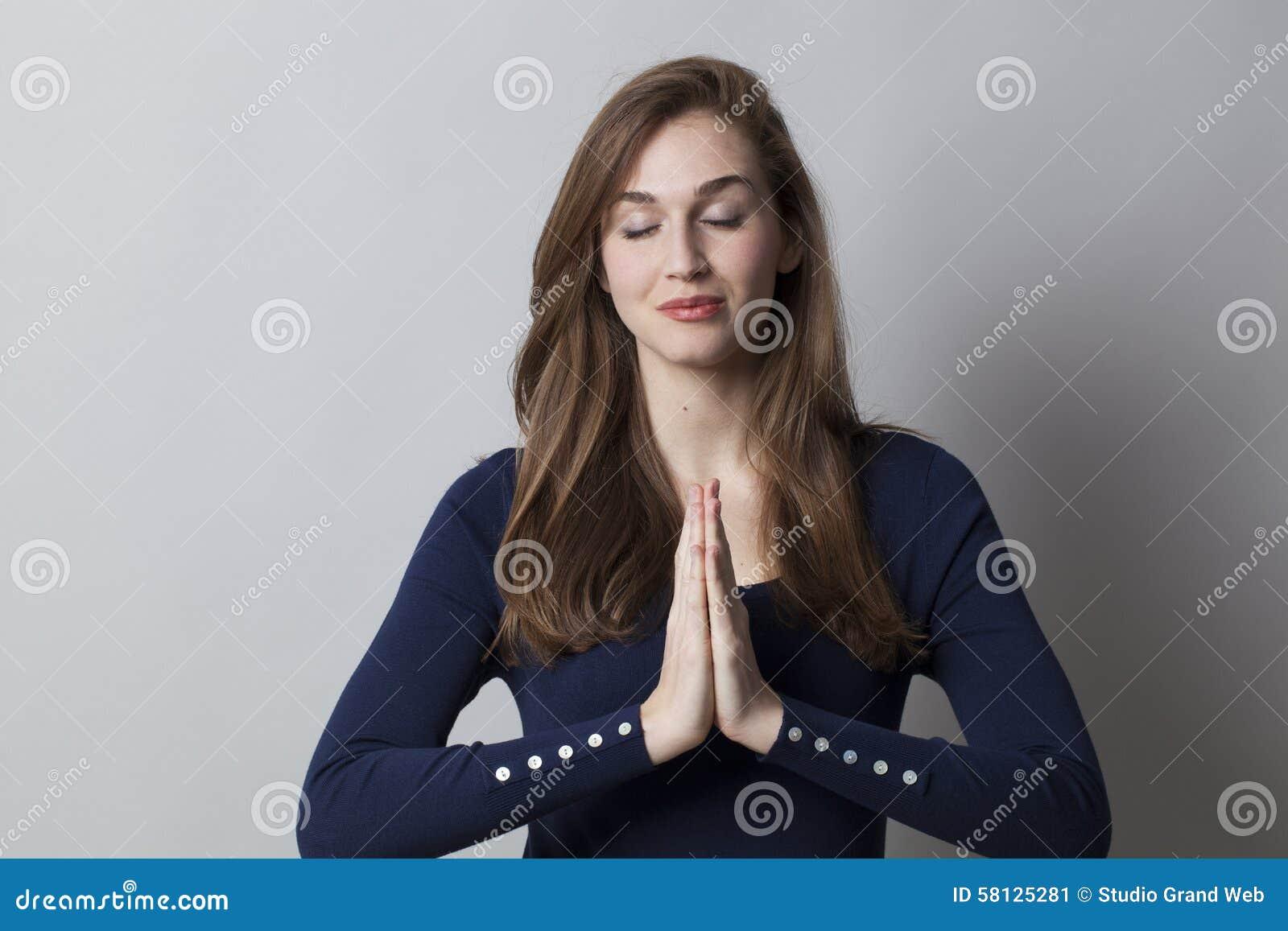 Lugna händer för att meditera på arbete