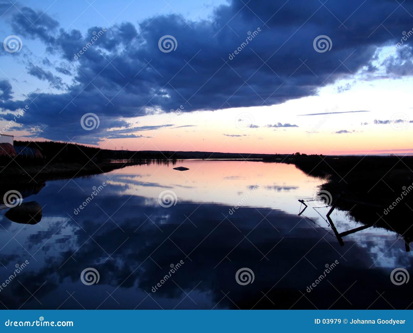 Lugna reflexion