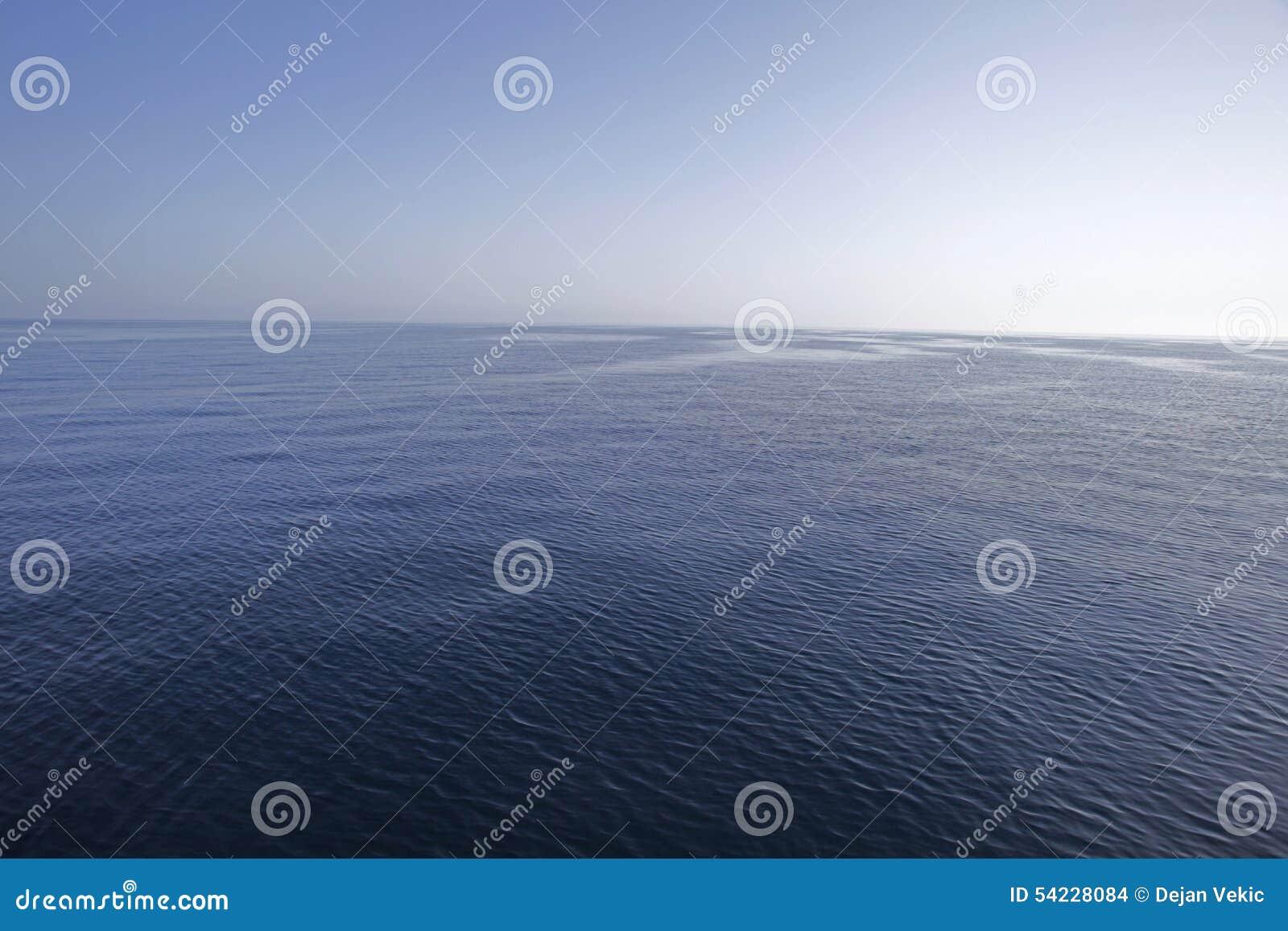 Lugnat hav
