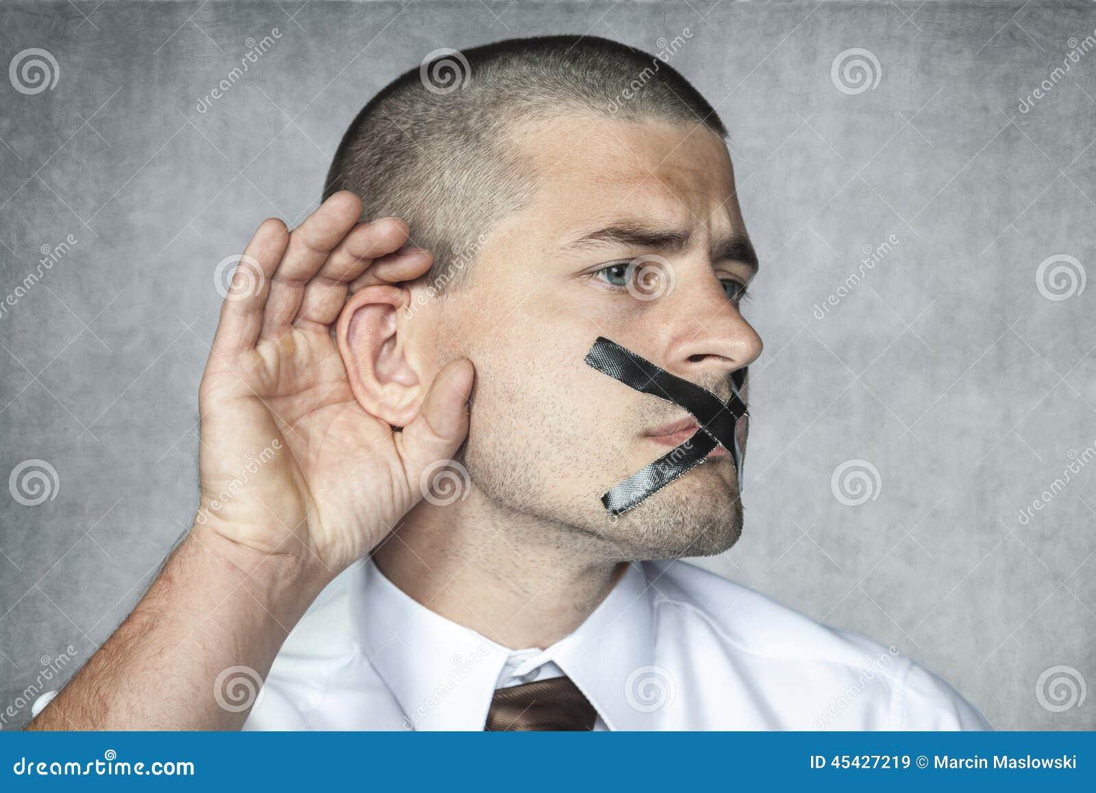 Luister maar spreek niet