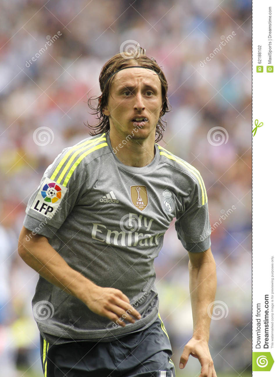 Luka Modric of Real Madrid editorial photography Image of