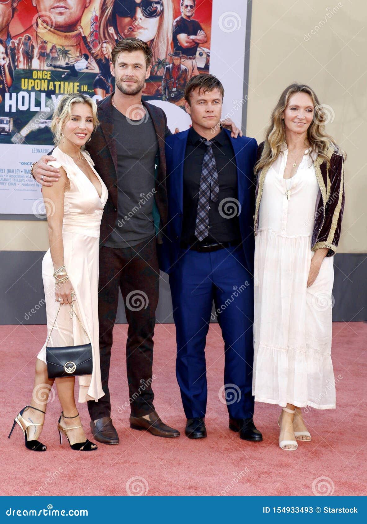 Luke Hemsworth, Samantha Hemsworth, Elsa Pataky i Chris Hemsworth,