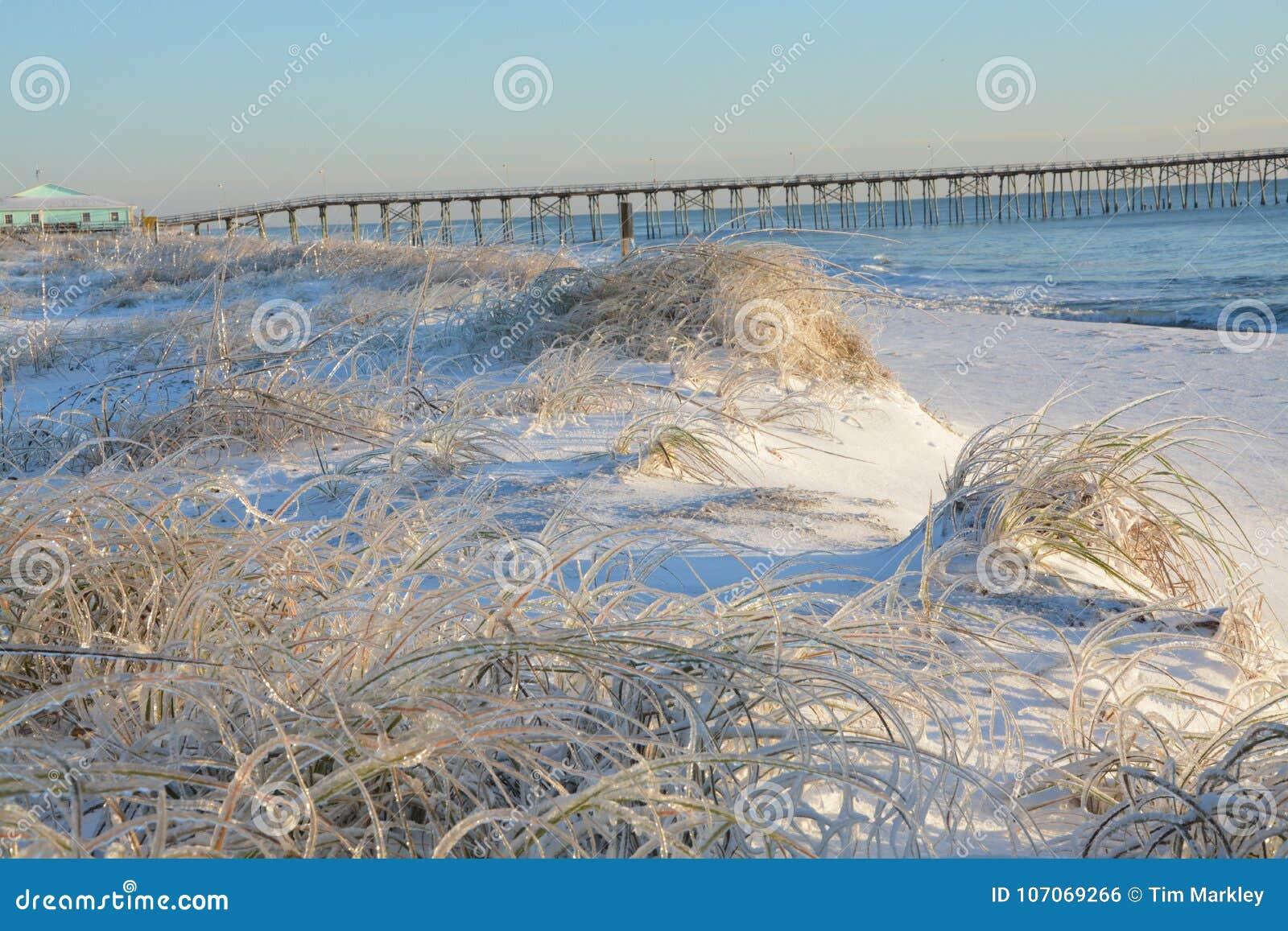 Lukrowa plaża w Pólnocna Karolina