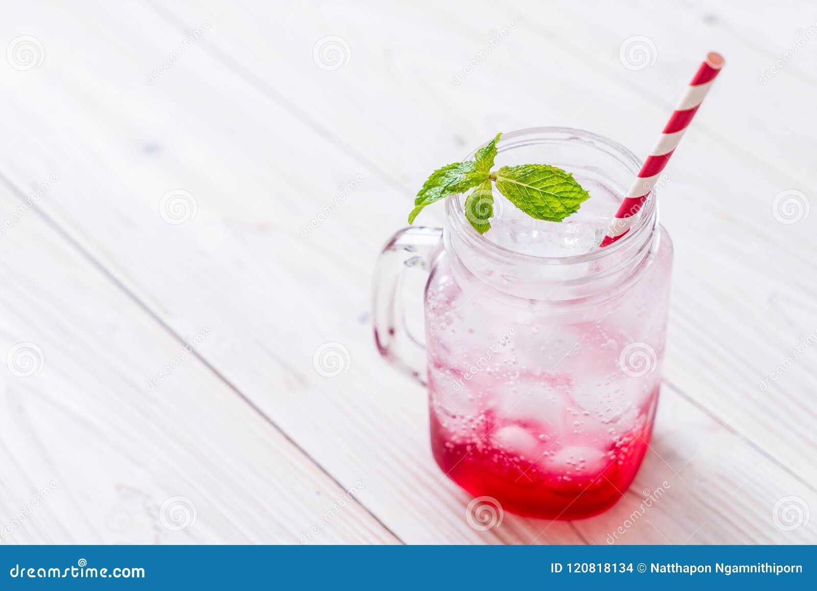 Lukrowa truskawkowa soda