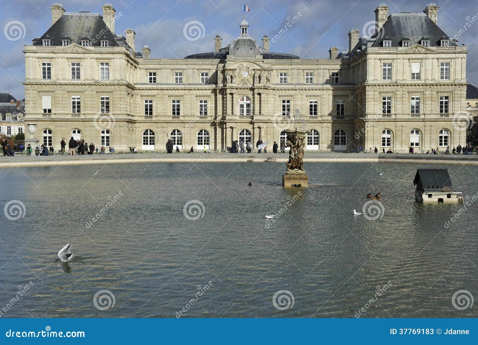 Luksemburg pałac, Paryż