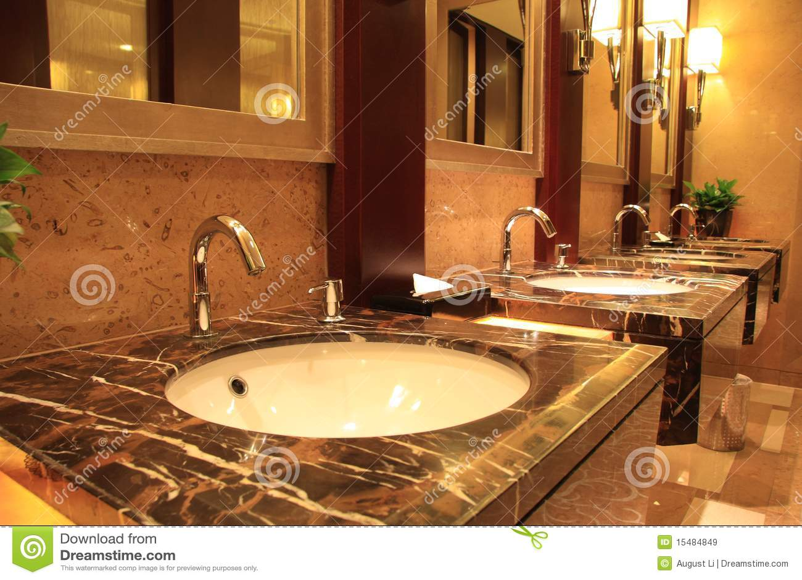 Luksusowa jawna toaleta