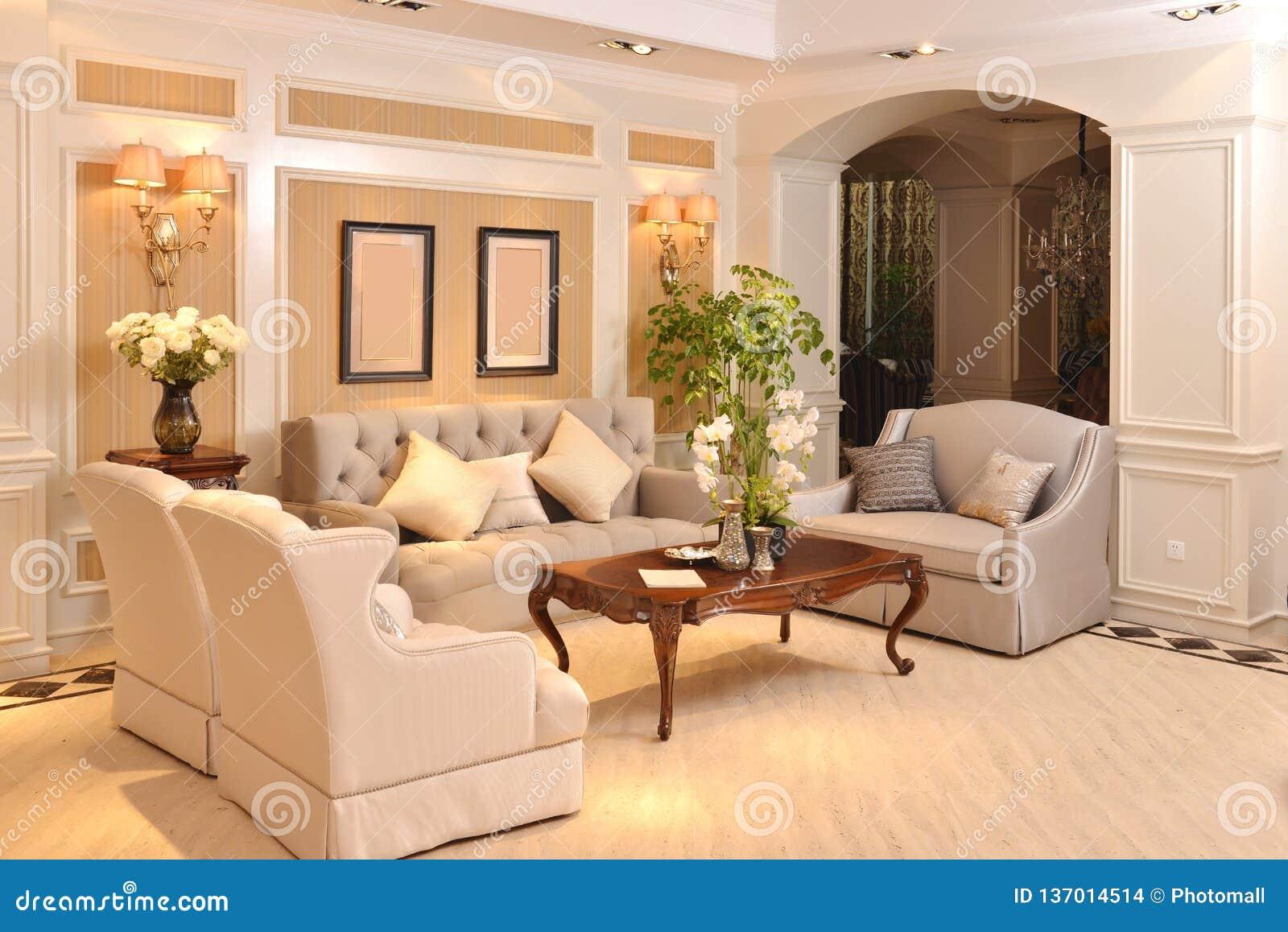 Luksusowy żywy izbowy urządzenie domu fitment meble dopasowanie