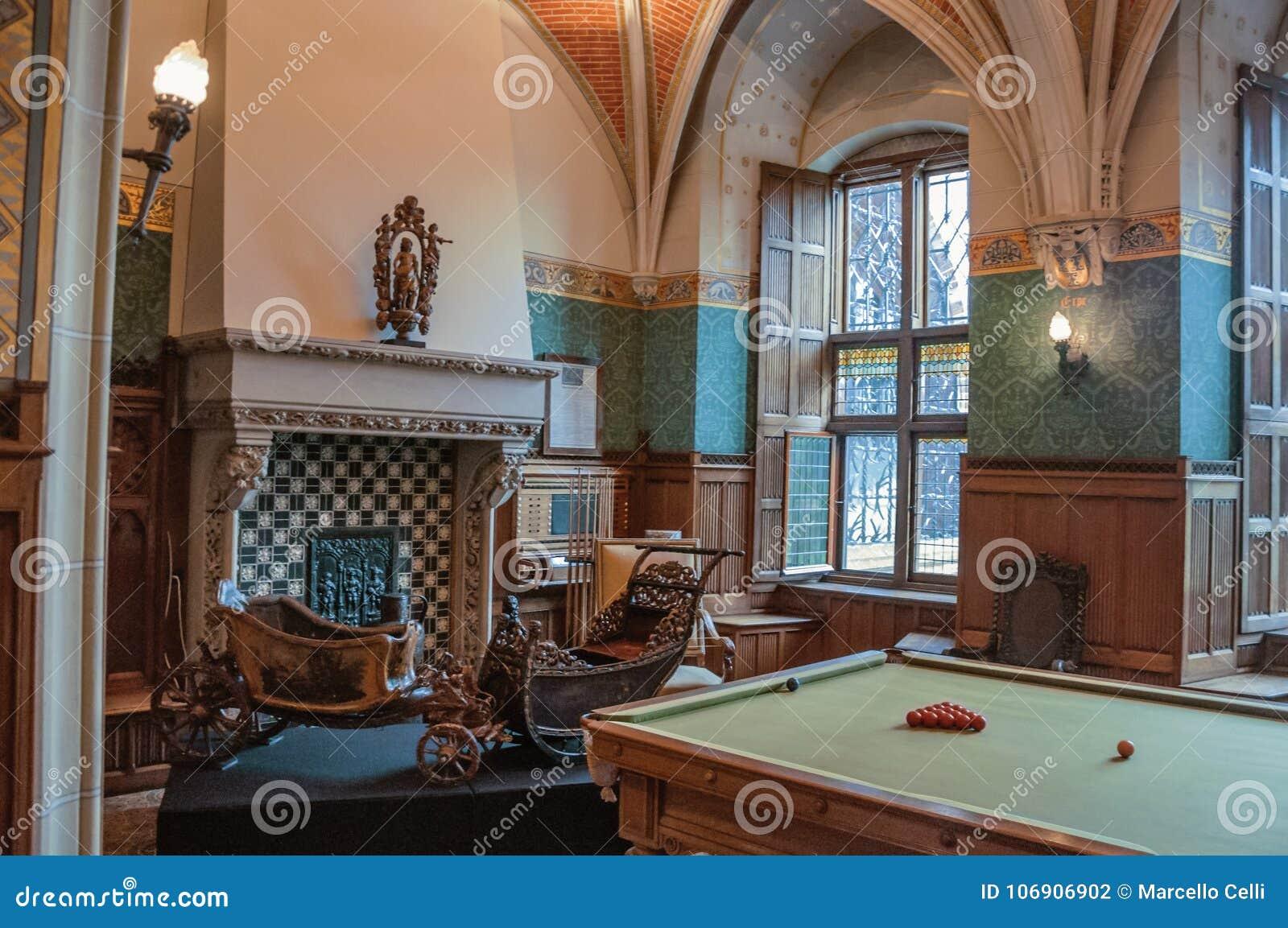 Luksusowy żywy pokój w De Haar Roszujący blisko Utrecht,
