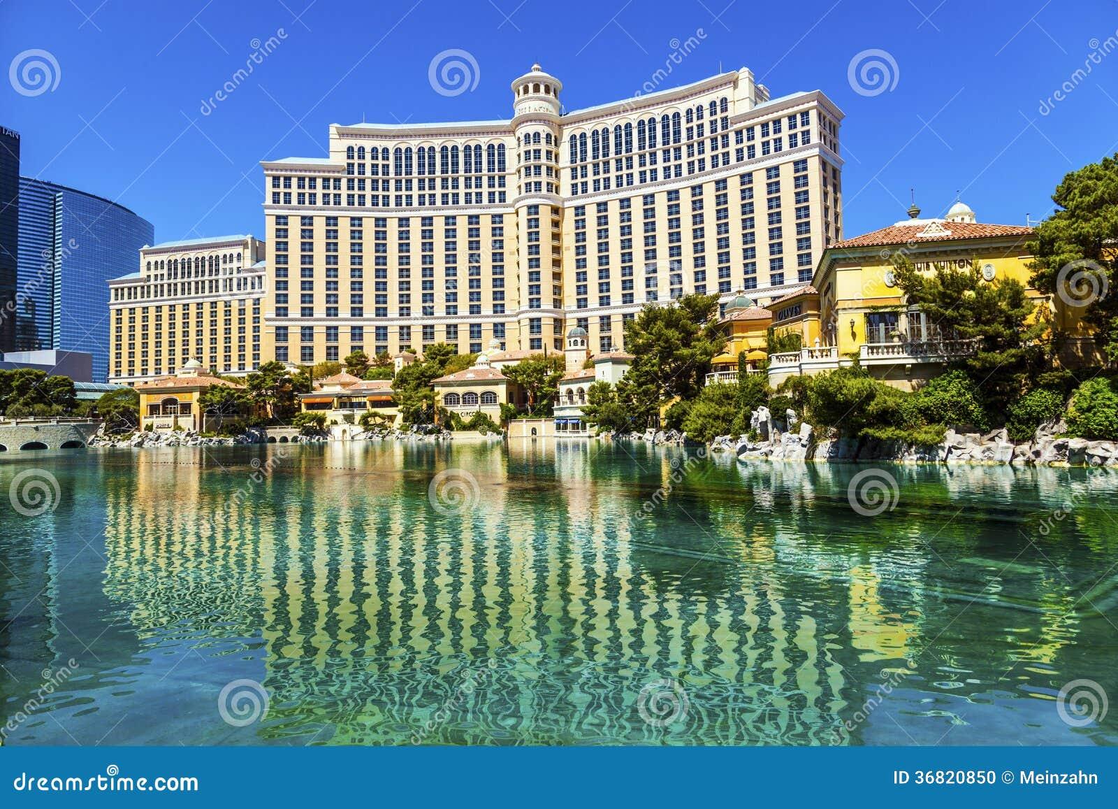 Luksusowy hotel Bellagio w Las Vegas