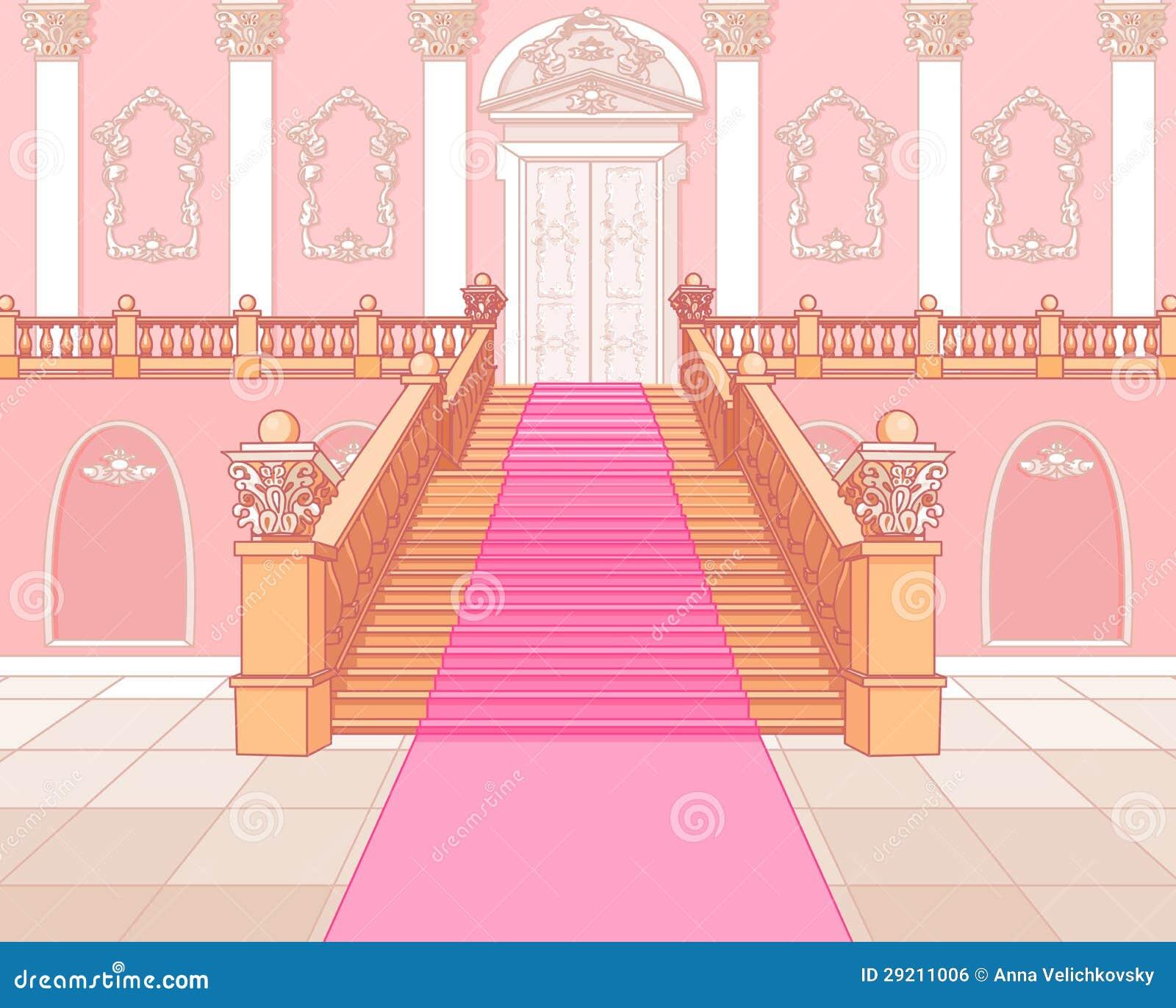 Luksusowy schody w pałac