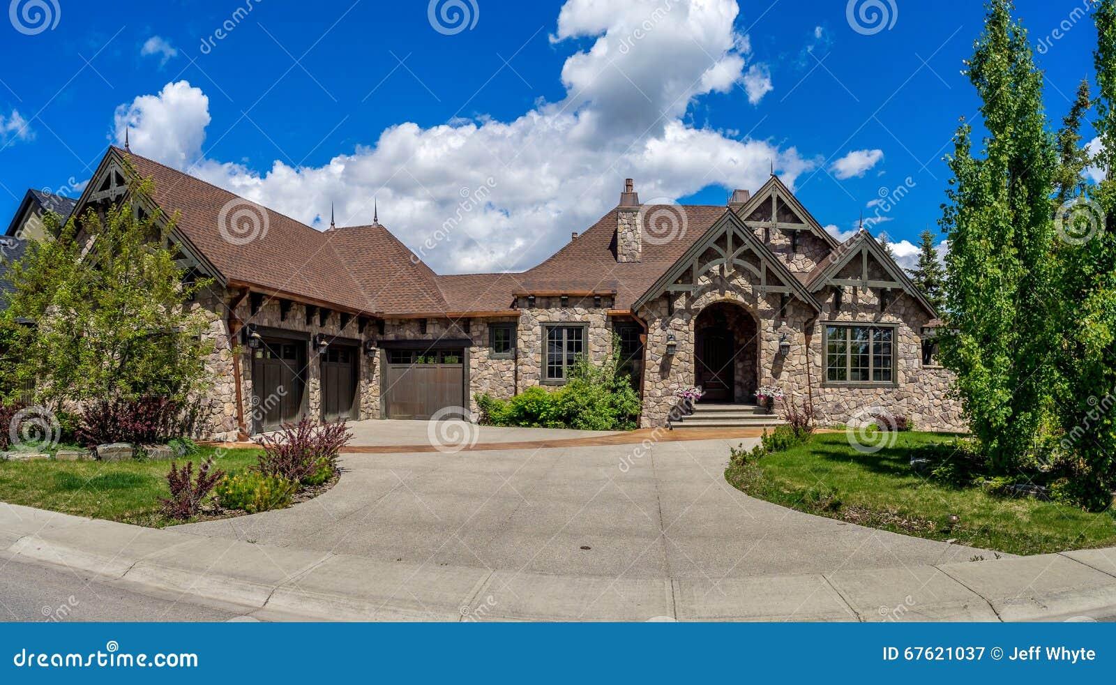 Luksusu dom w Calgary, Kanada