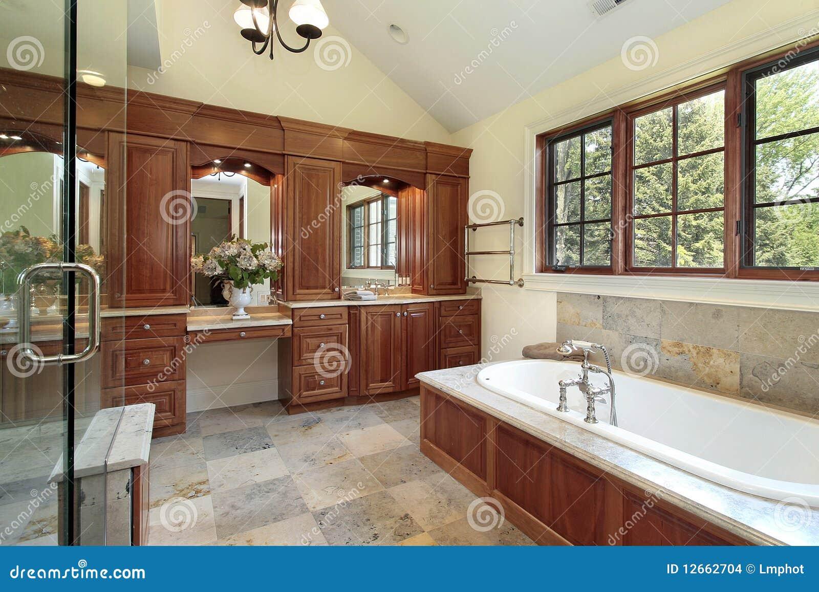Luksusu kąpielowy domowy mistrz