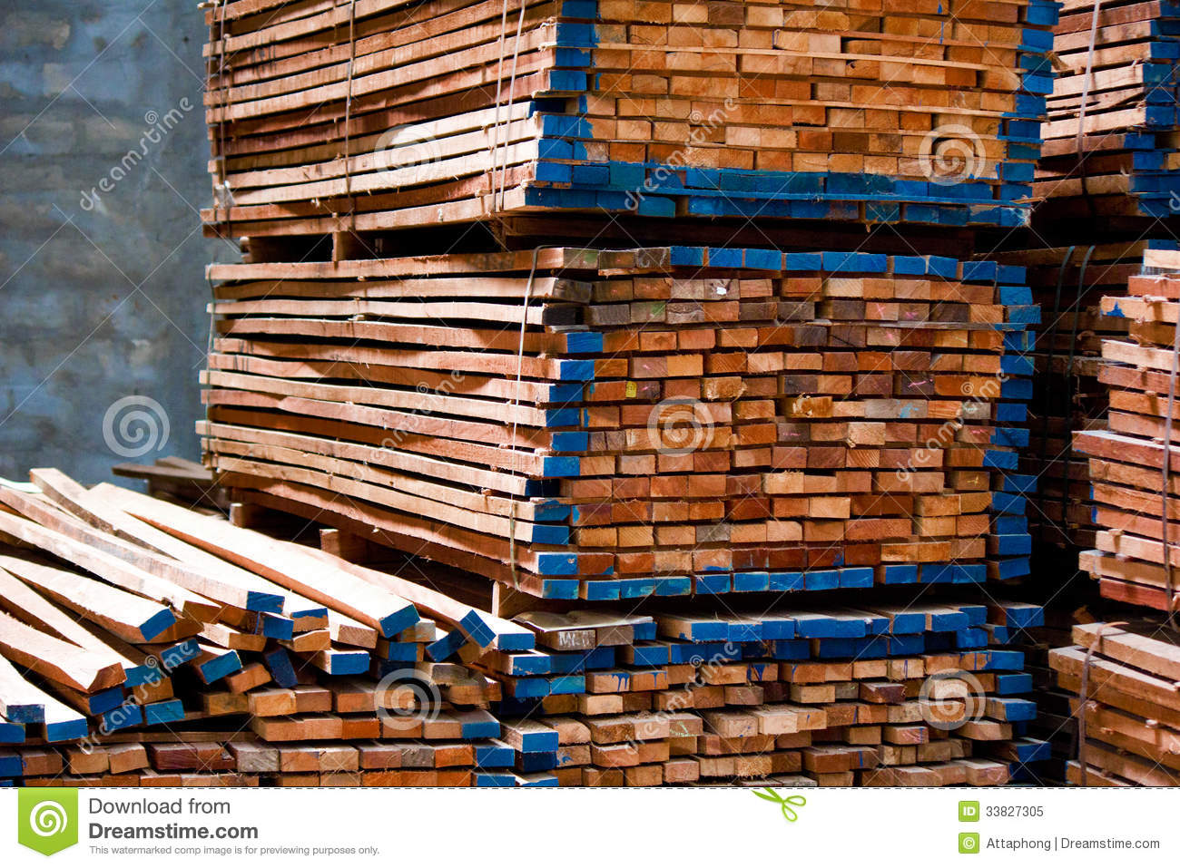 Lumber pile royalty free stock photo image